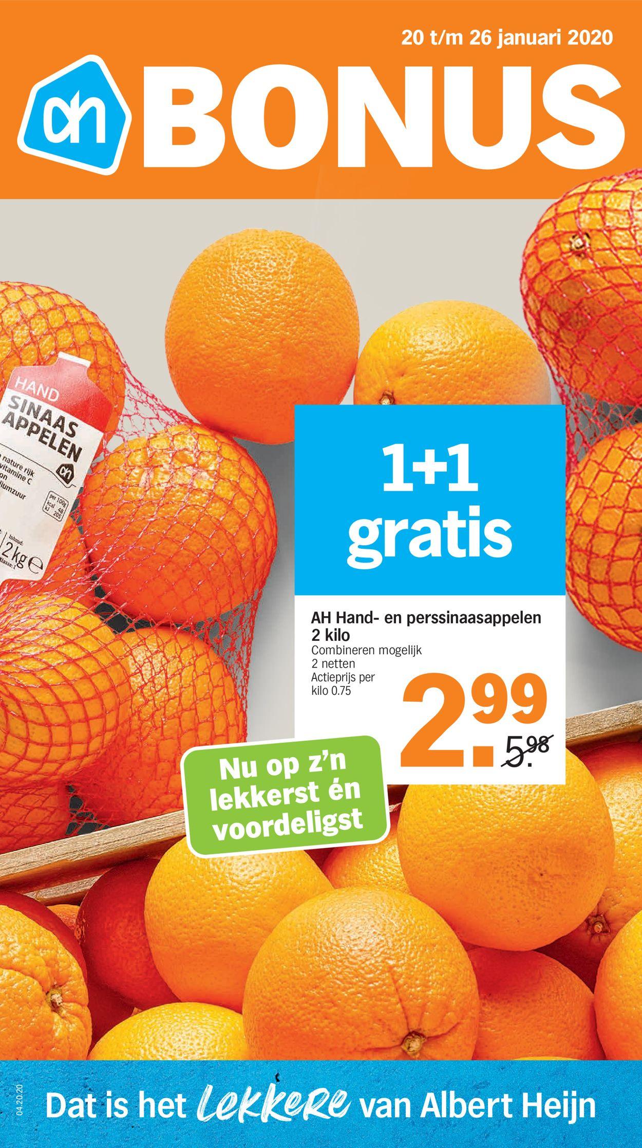 Albert Heijn Folder - 20.01-26.01.2020