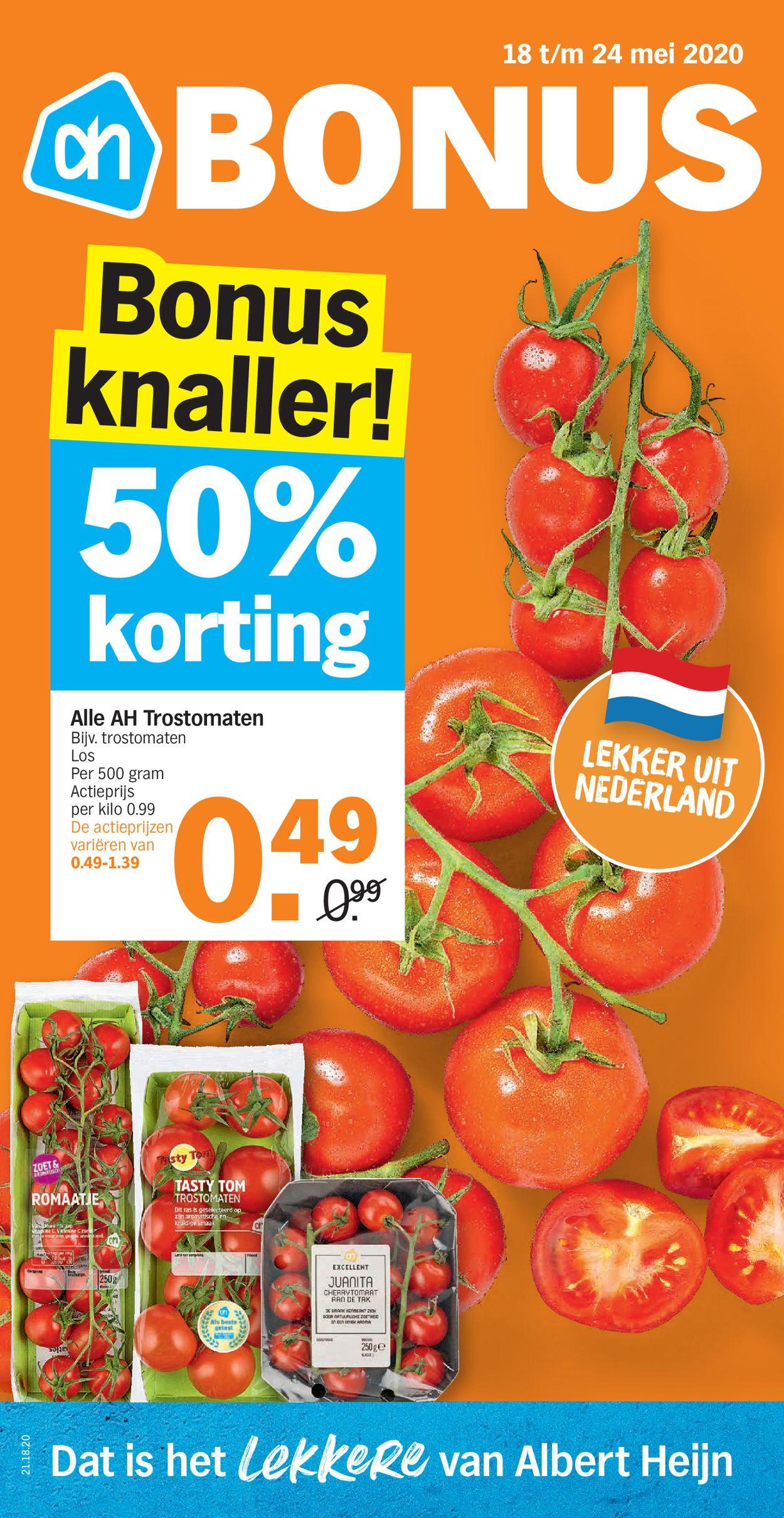 Albert Heijn Folder - 18.05-24.05.2020