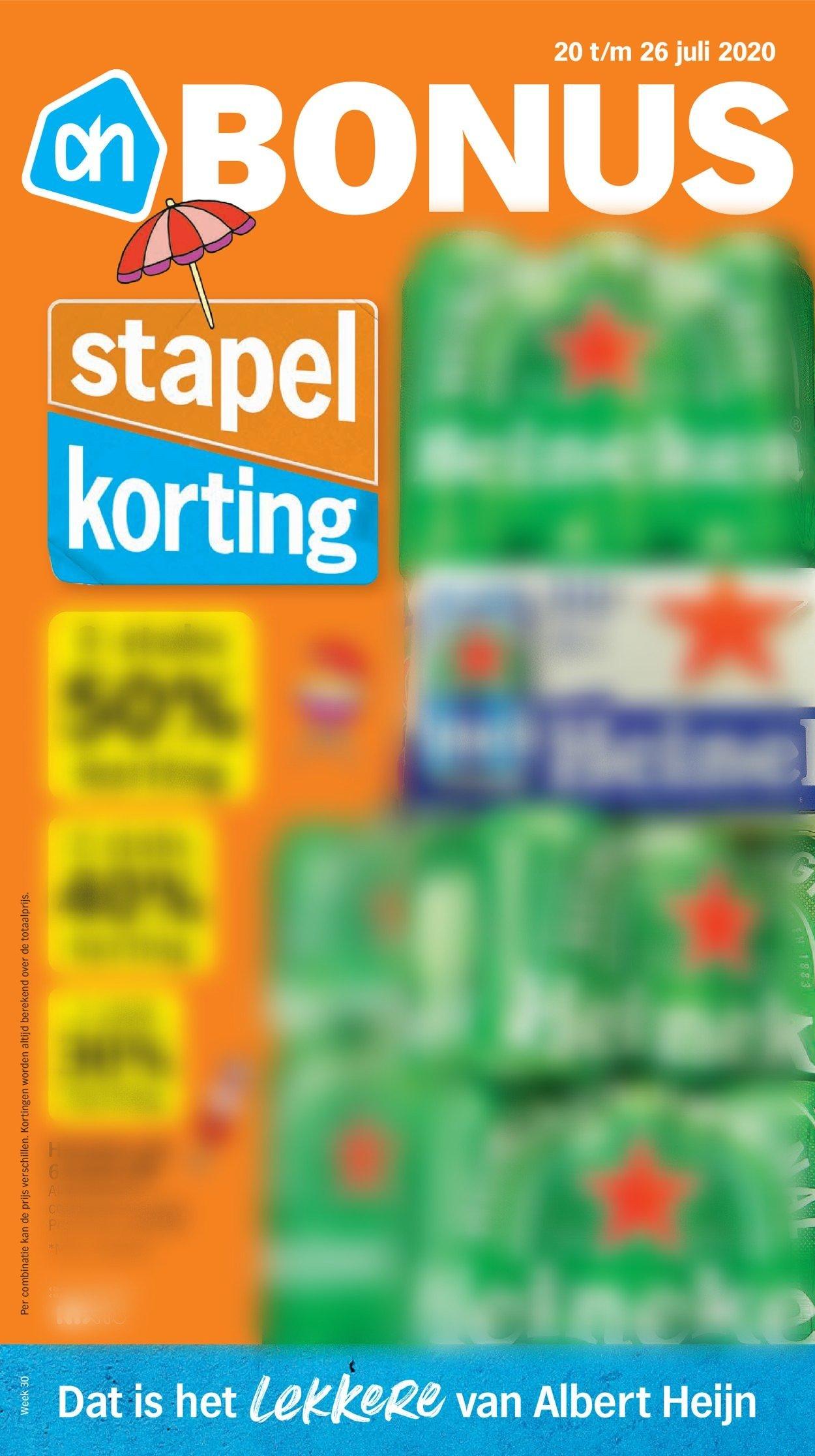Albert Heijn Folder - 20.07-26.07.2020