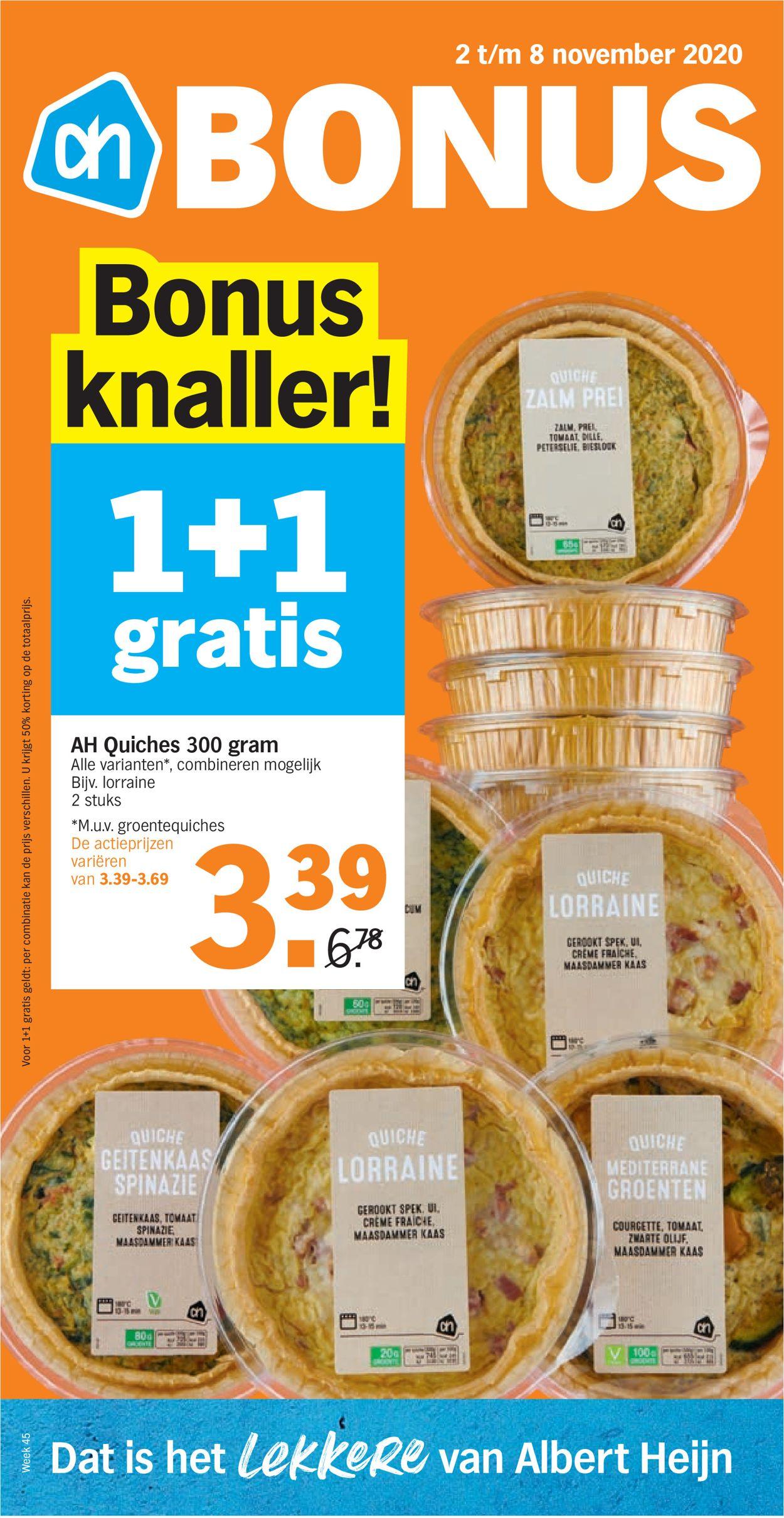 Albert Heijn Folder - 02.11-08.11.2020