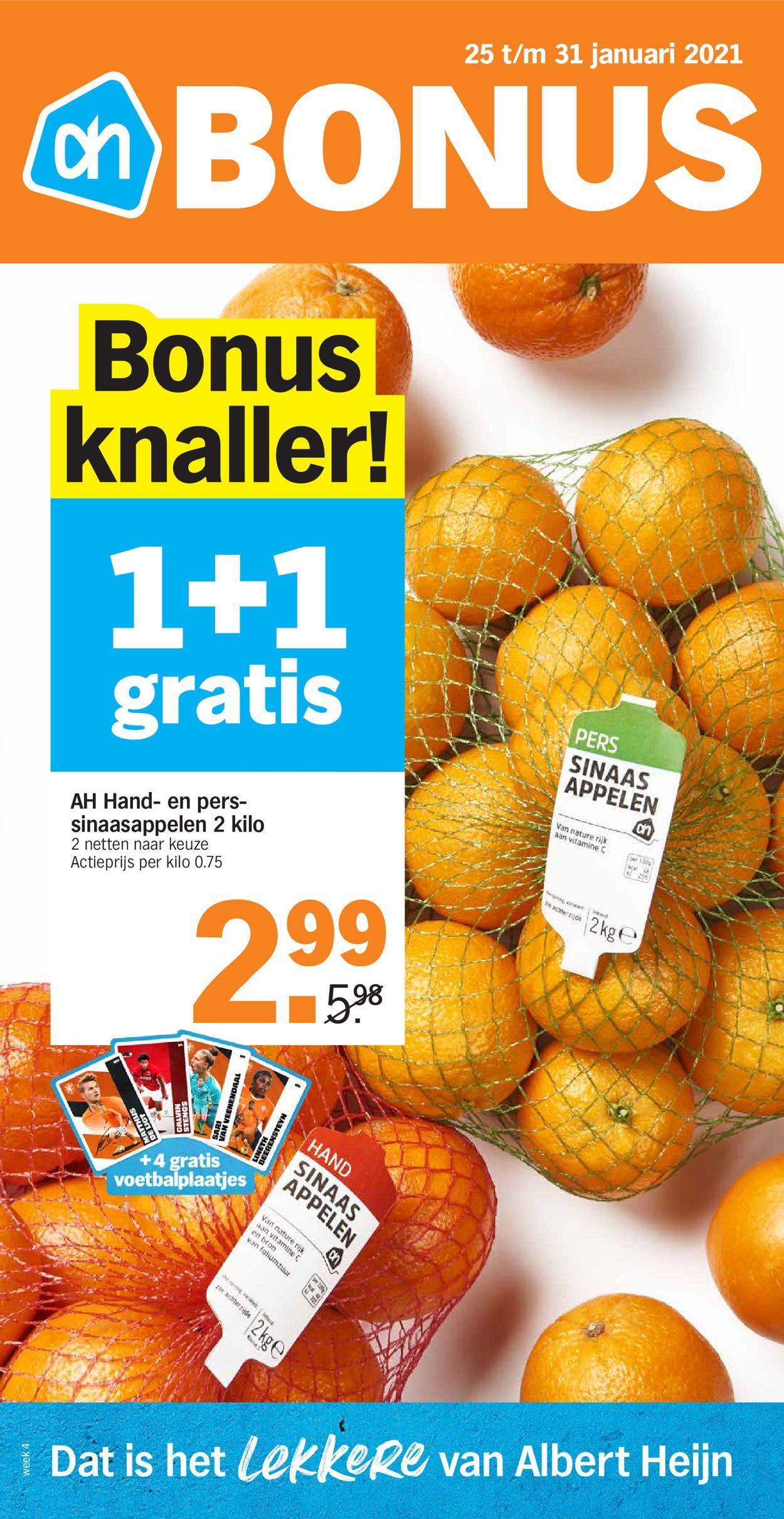 Albert Heijn Folder - 25.01-31.01.2021