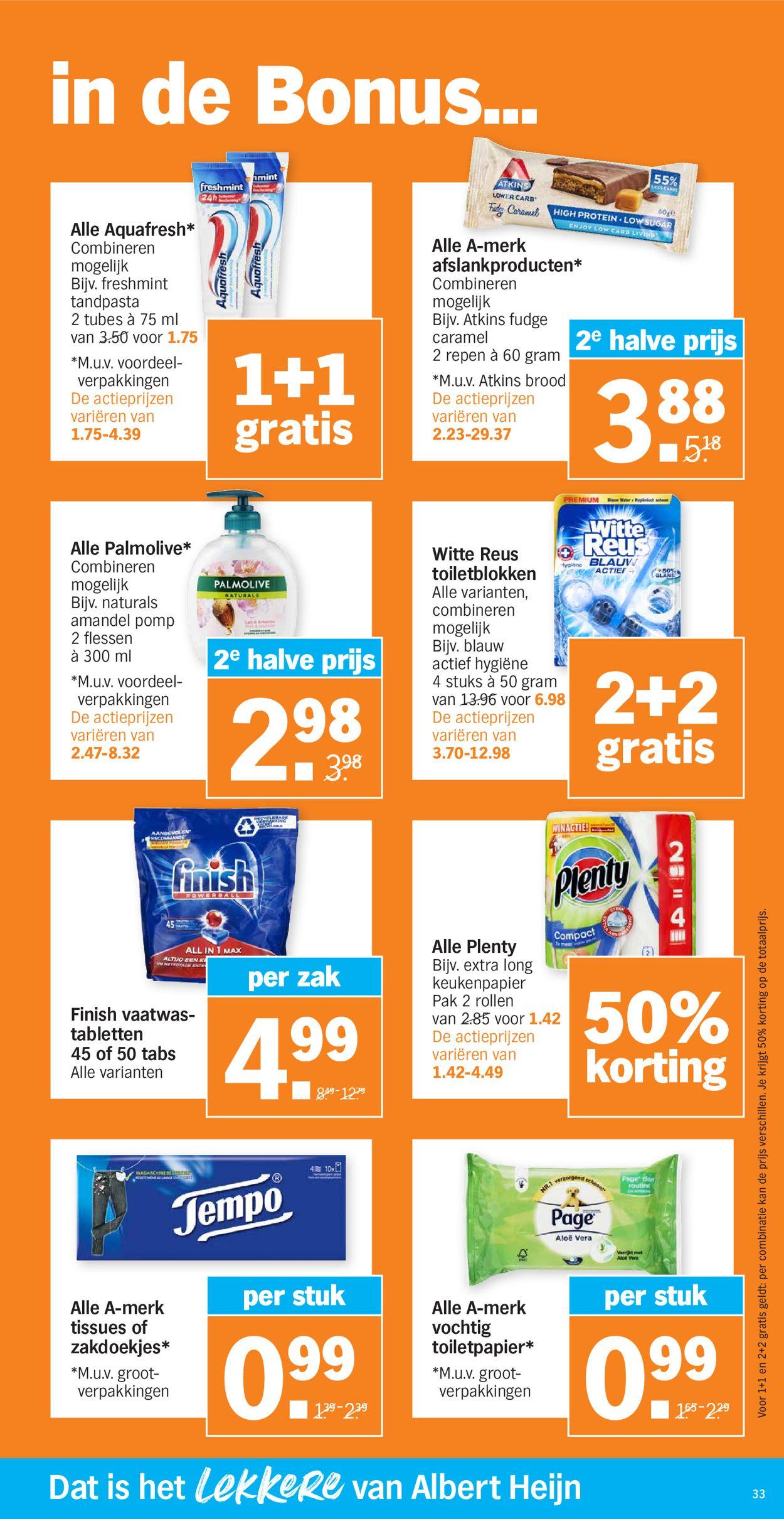 Albert Heijn Folder - 22.02-28.02.2021 (Pagina 33)