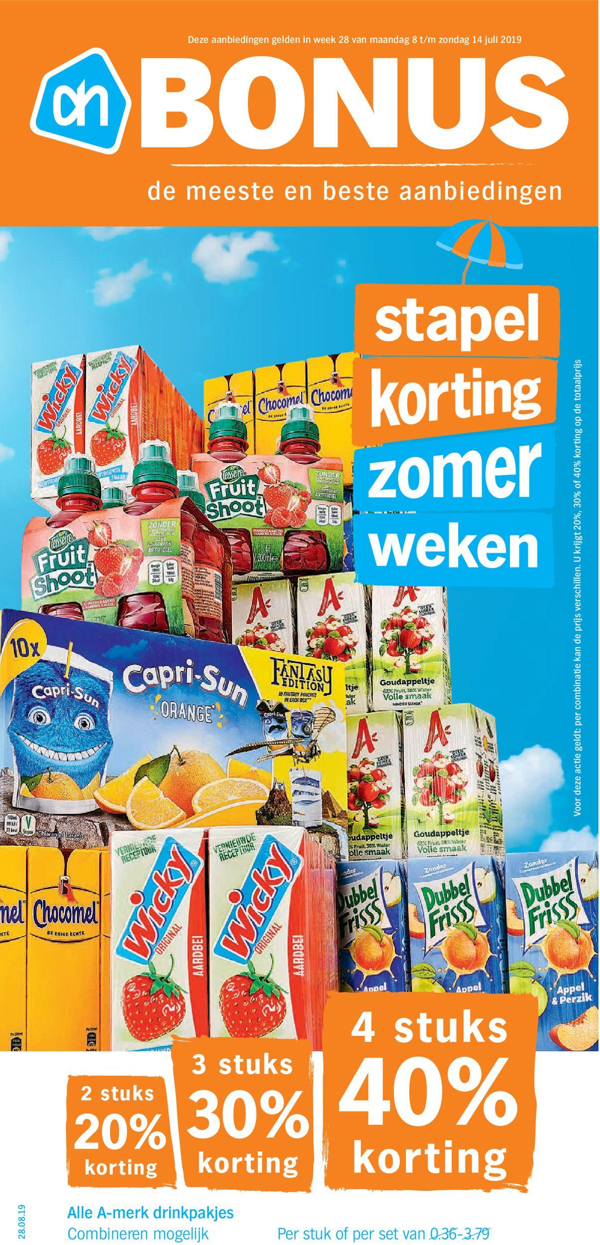 Albert Heijn Folder - 08.07-14.07.2019