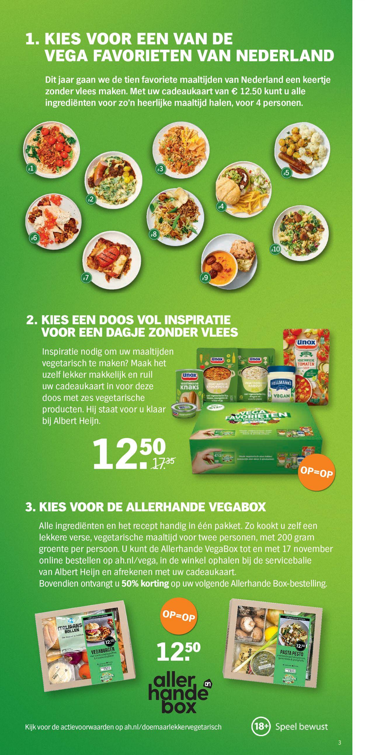 Albert Heijn Folder - 04.11-10.11.2019 (Pagina 3)