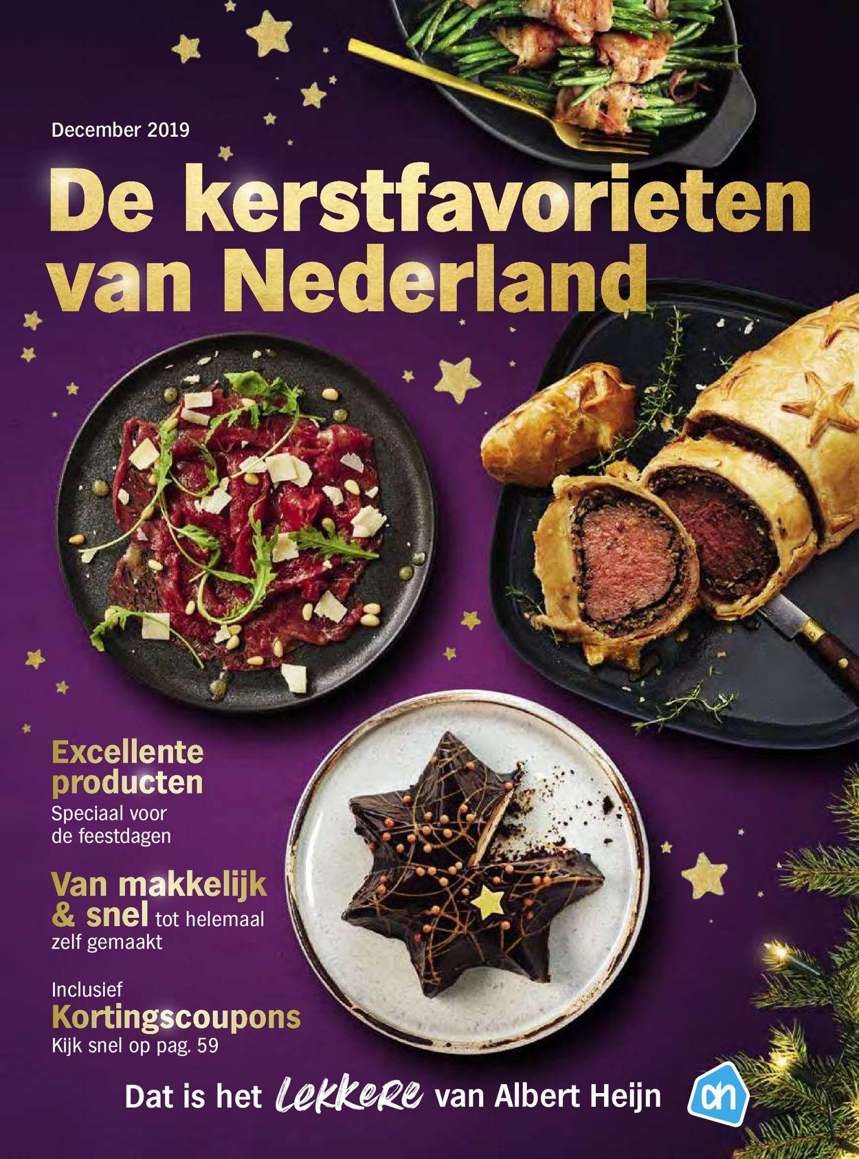 Albert Heijn kerstaanbieding 2019 Folder - 06.12-31.12.2019