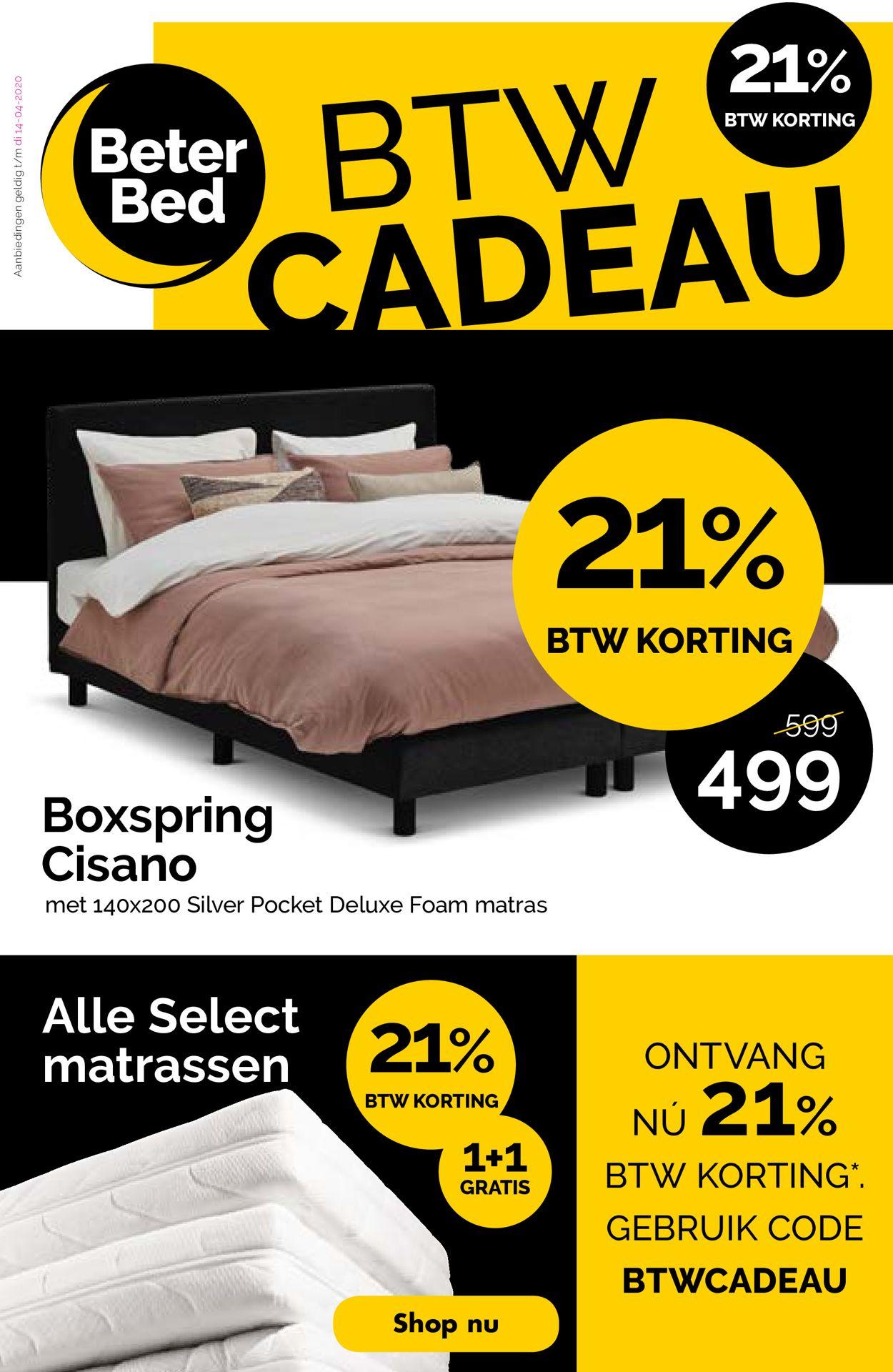 Beter Bed Folder - 30.03-18.04.2020