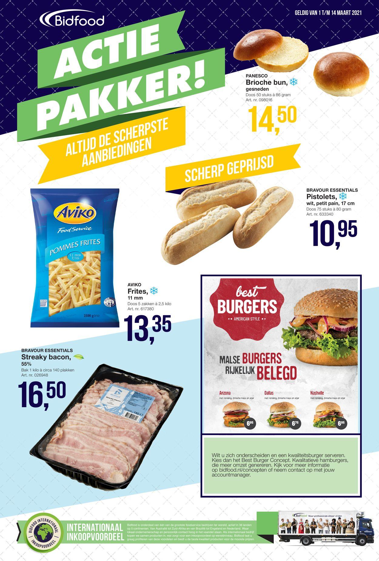 Bidfood Actiepakker Folder - 01.03-14.03.2021