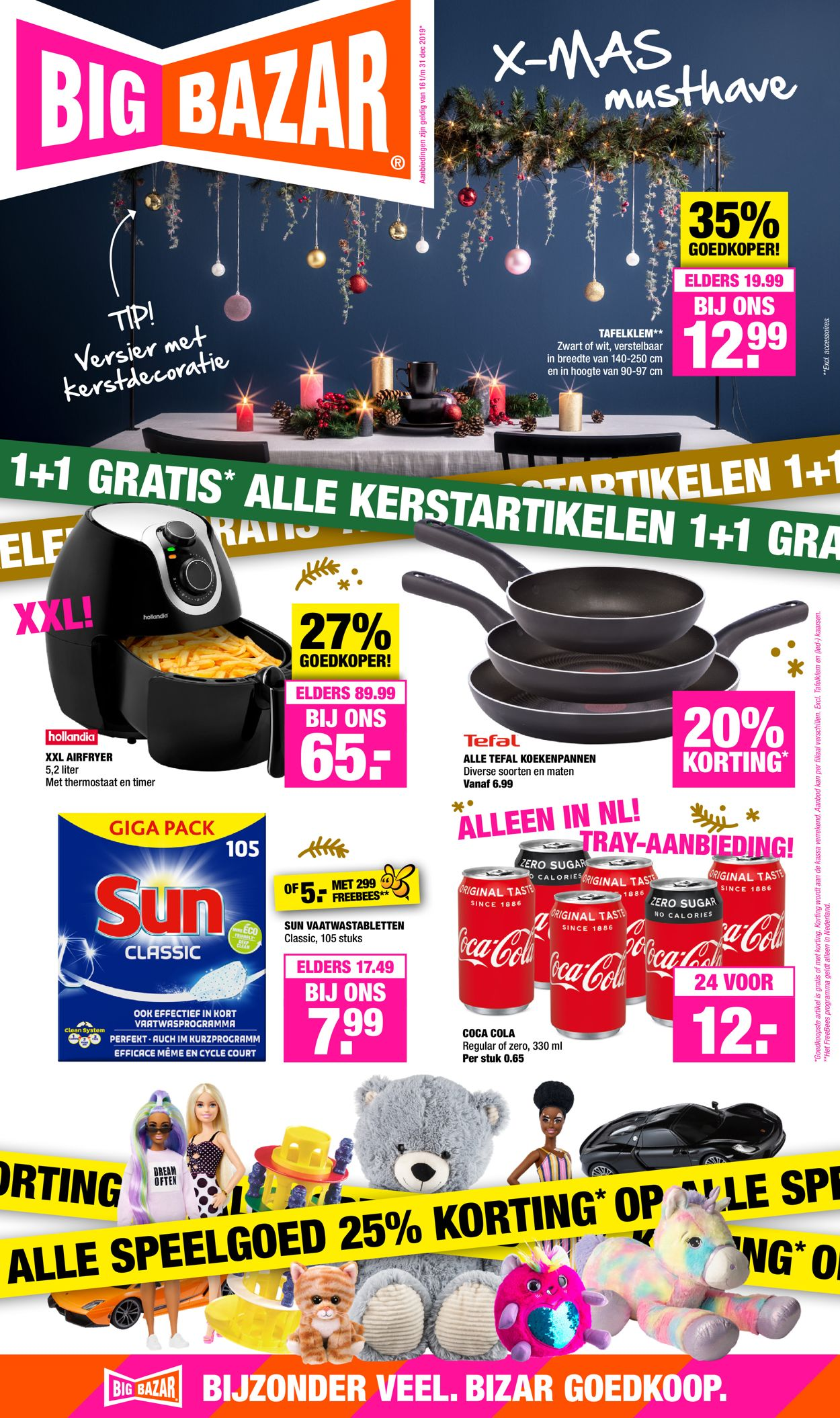 Big Bazar - Kerstaanbieding 2019 Folder - 16.12-31.12.2019