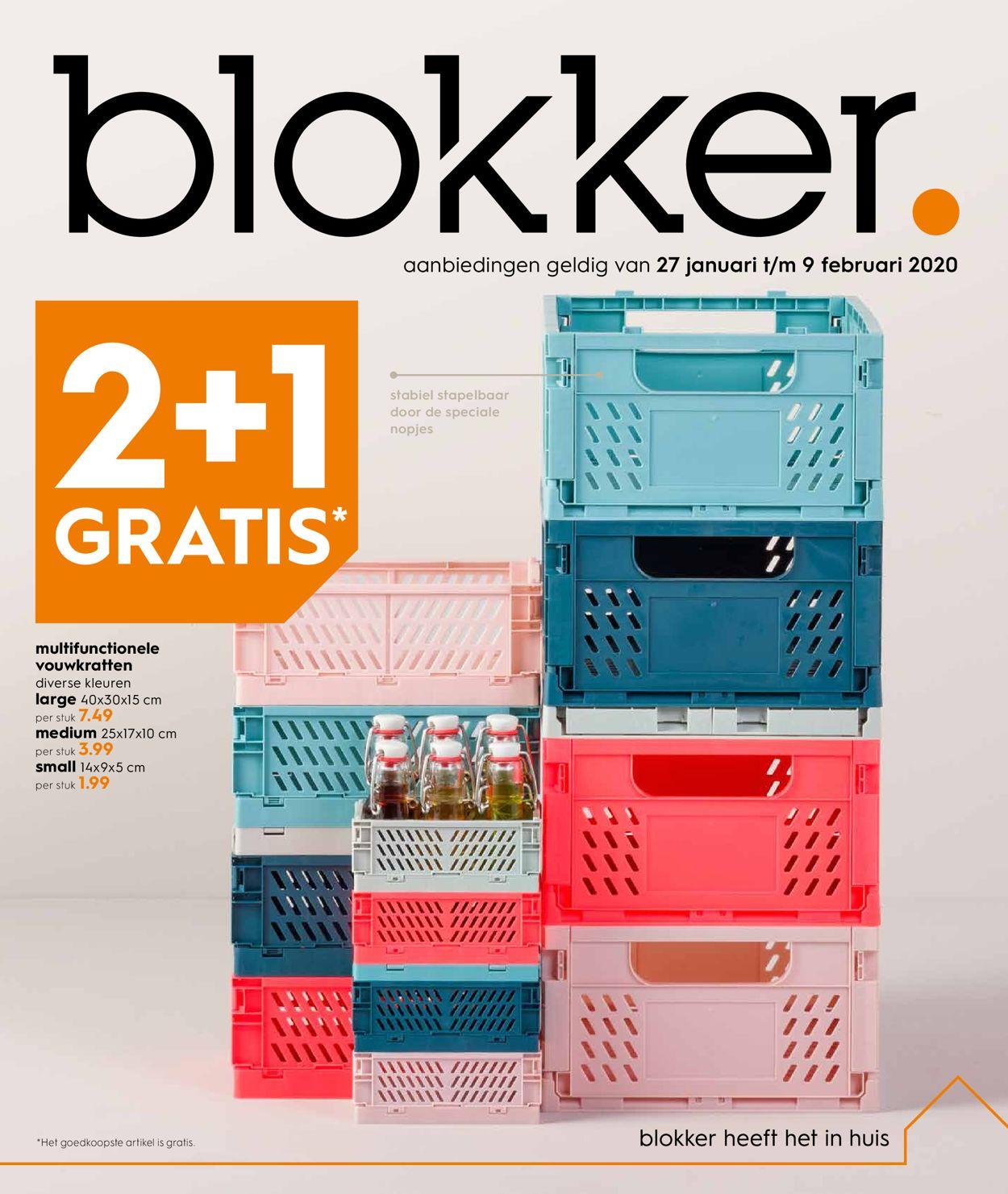 Blokker Folder - 27.01-09.02.2020