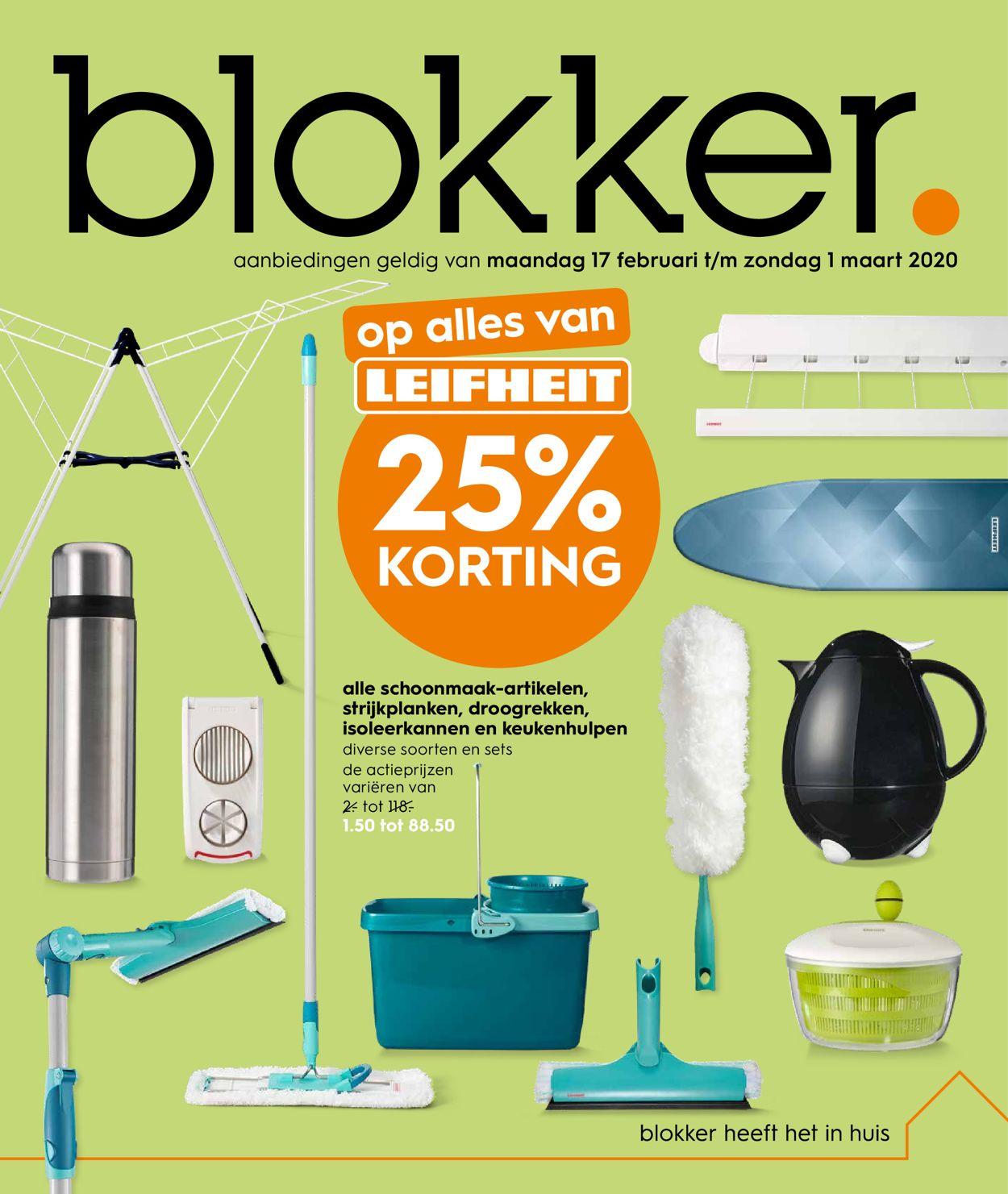 Blokker Folder - 17.02-01.03.2020