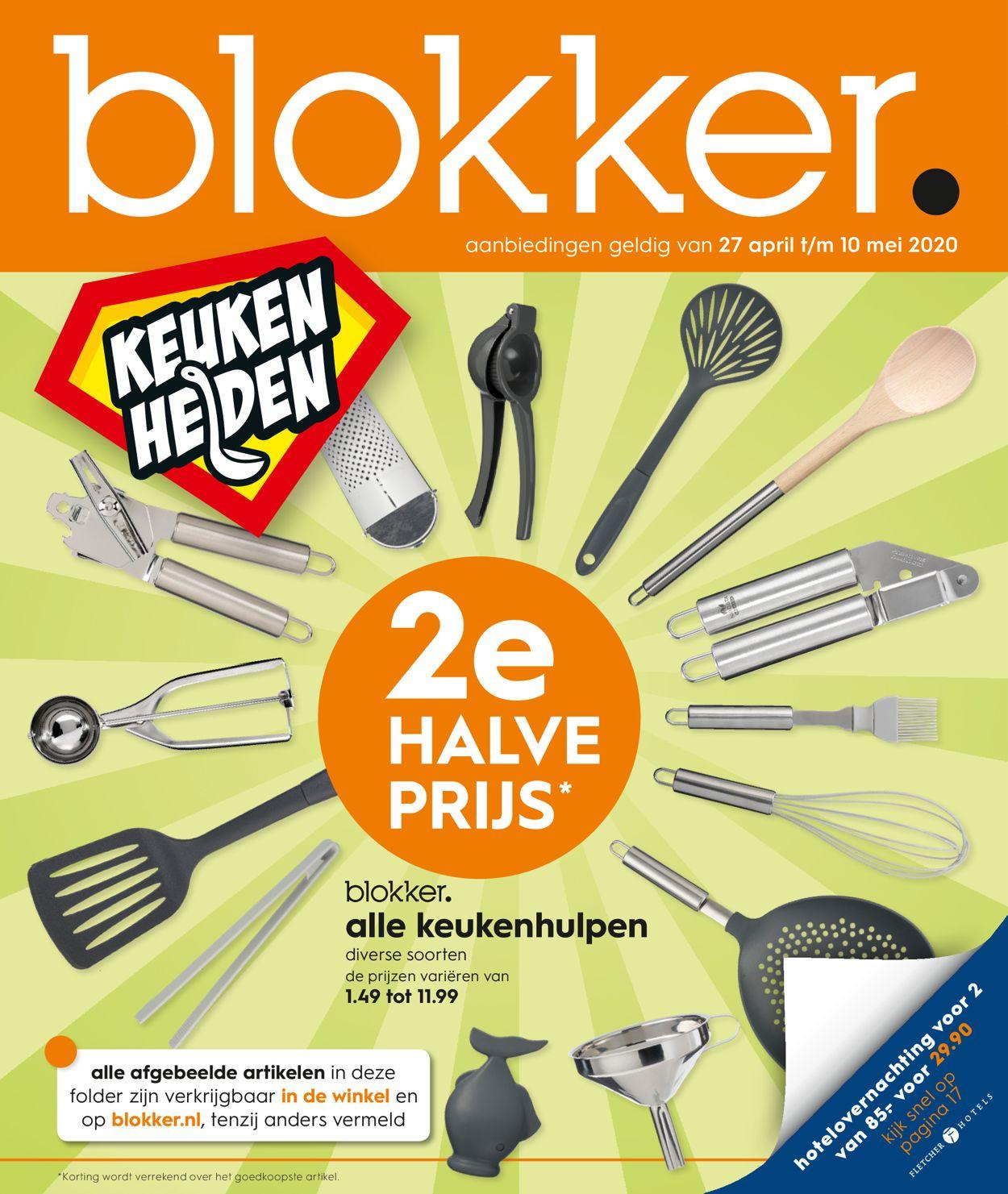 Blokker Folder - 27.04-10.05.2020
