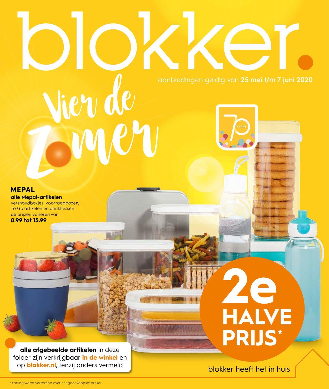 Blokker Folder - 25.05-07.06.2020