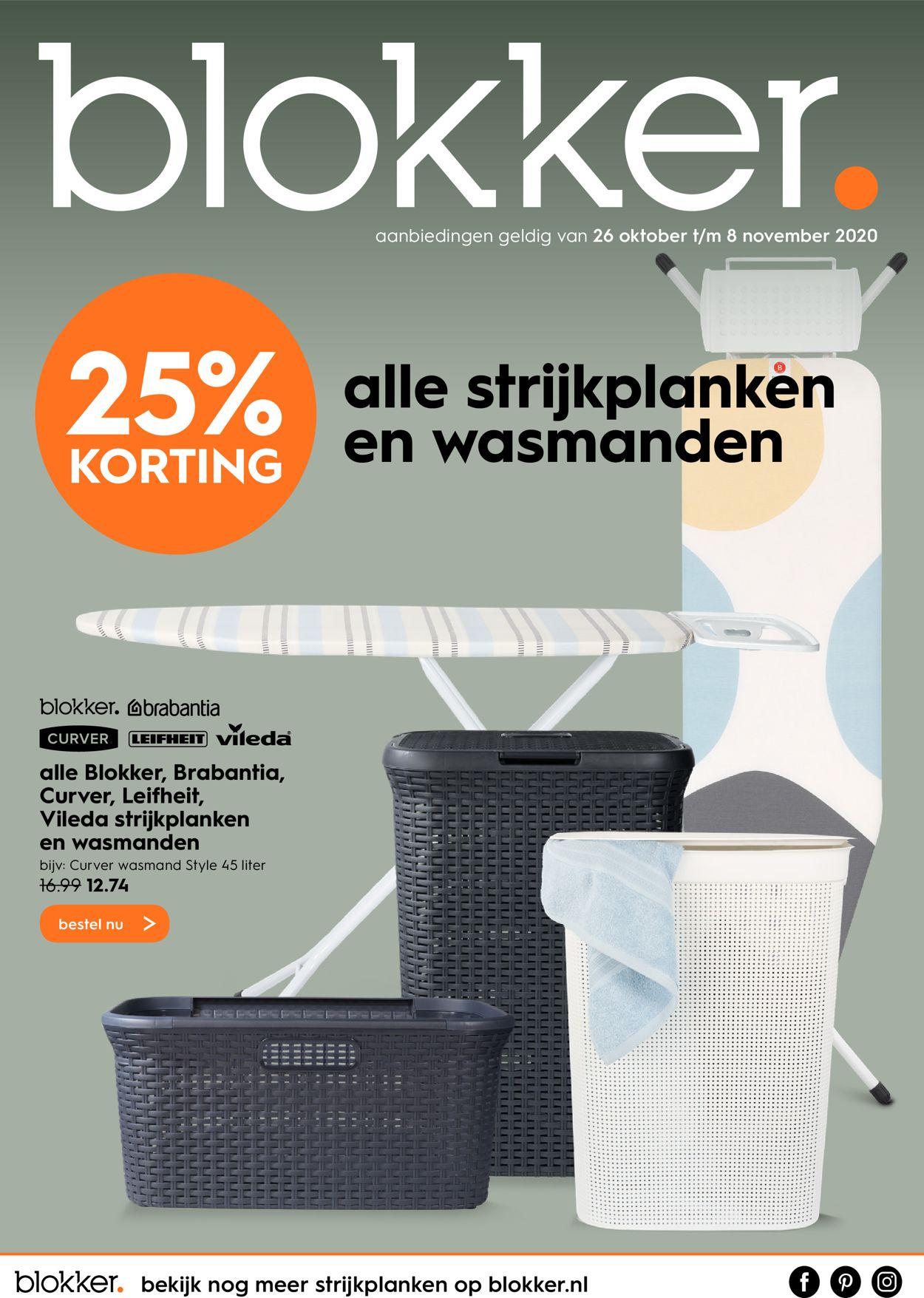 Blokker Folder - 26.10-08.11.2020