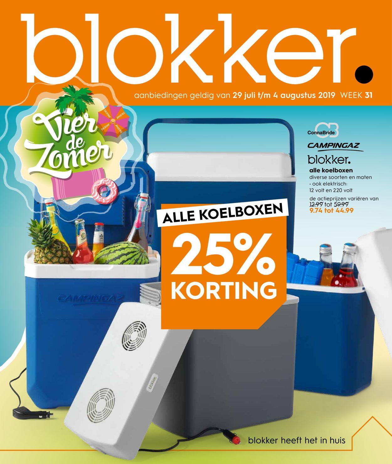 Blokker Folder - 29.07-04.08.2019