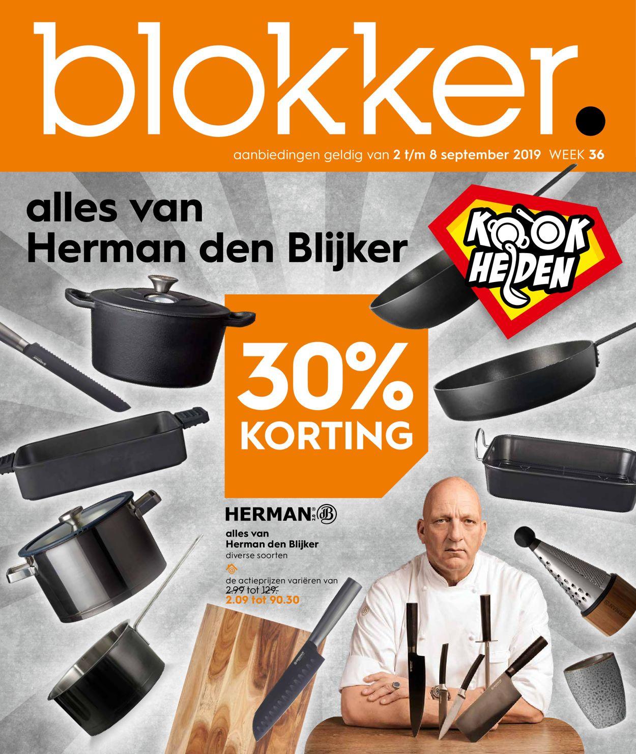 Blokker Folder - 02.09-08.09.2019