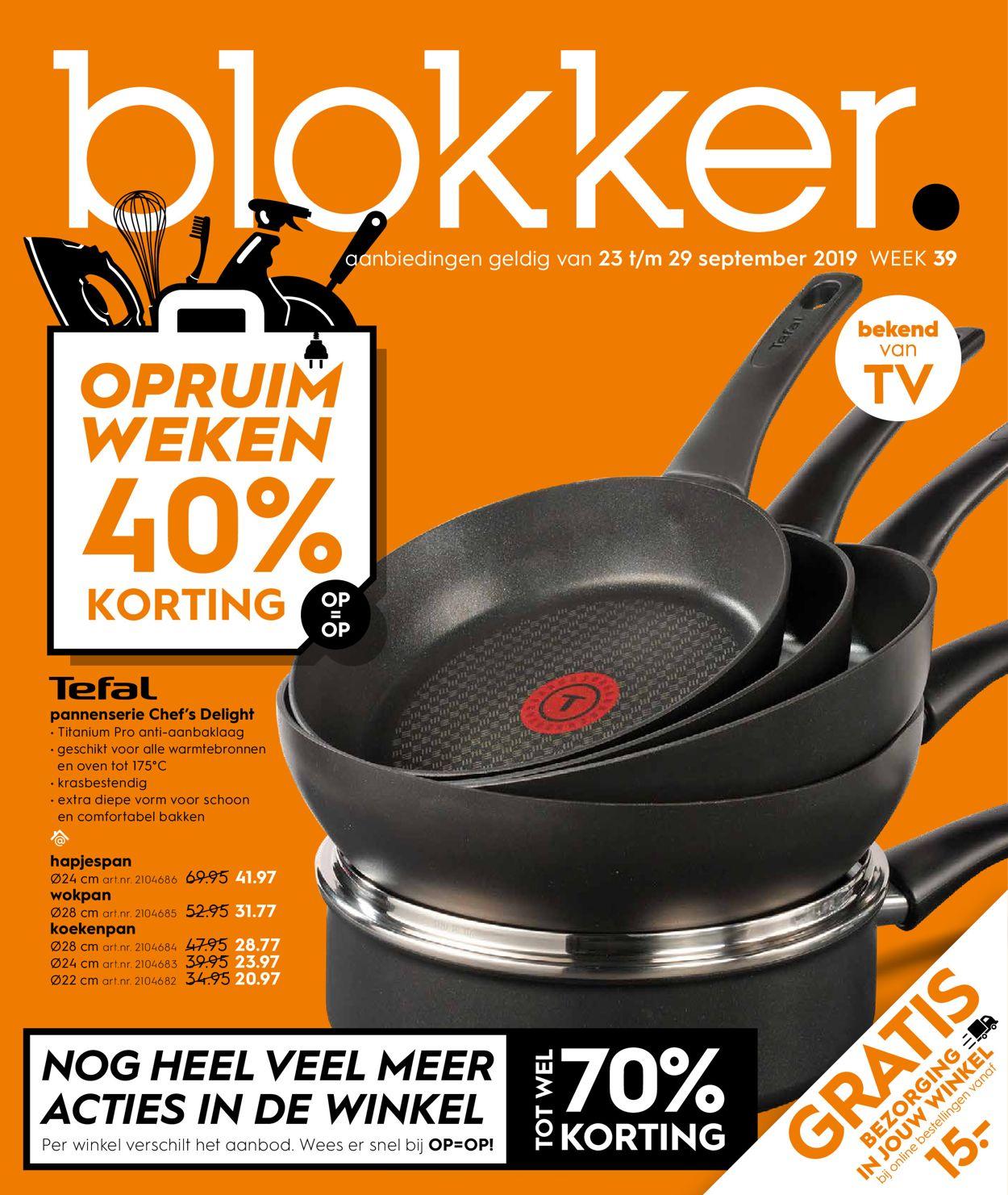 Blokker Folder - 23.09-29.09.2019