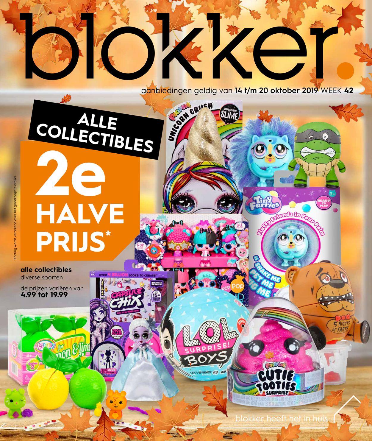 Blokker Folder - 14.10-20.10.2019