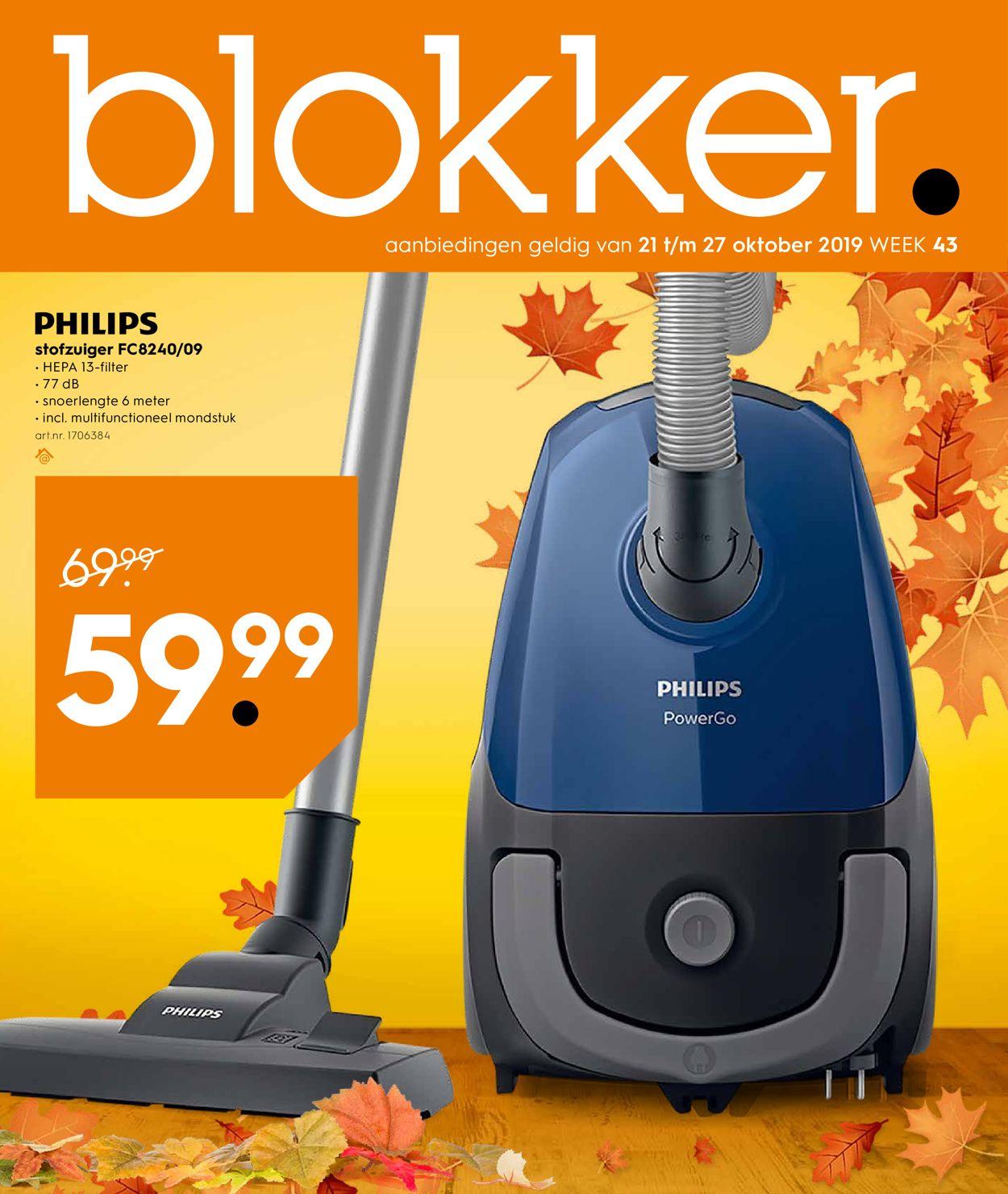 Blokker Folder - 21.10-27.10.2019