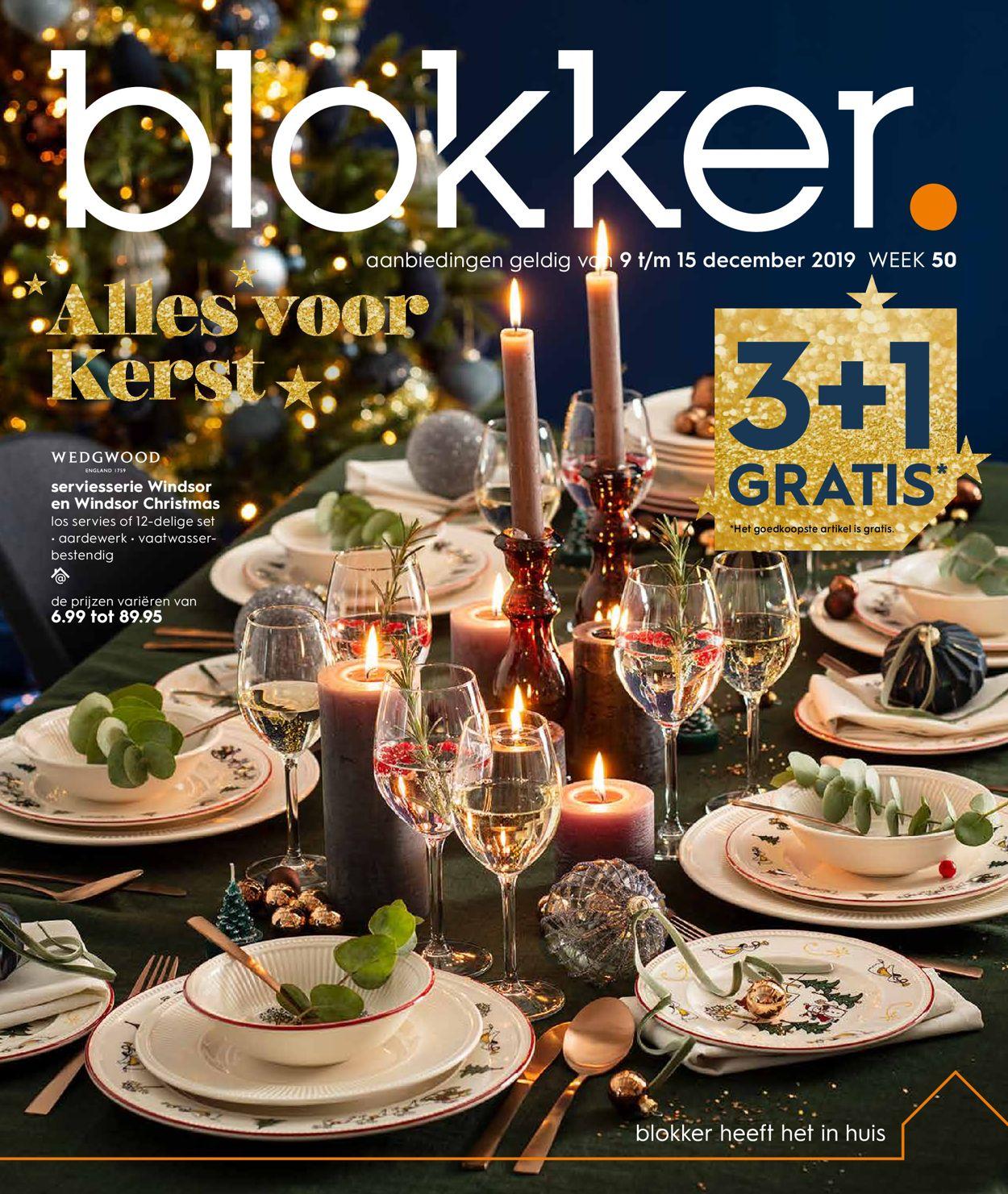 Blokker kerstaanbieding 2019 Folder - 09.12-15.12.2019