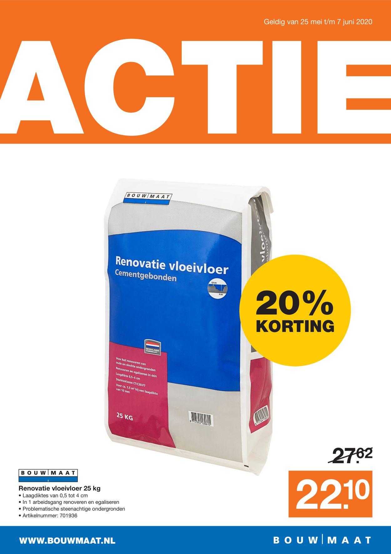 Bouwmaat Folder - 25.05-07.06.2020