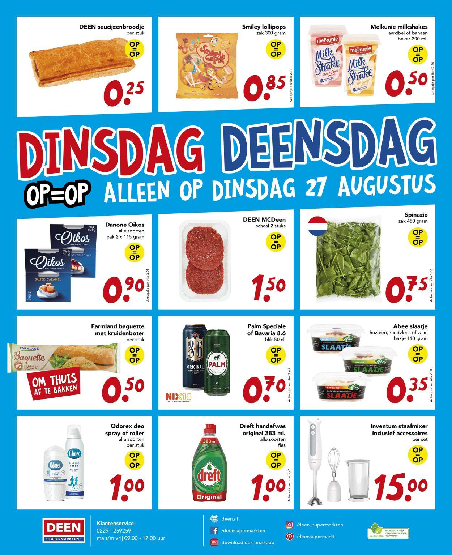 Deen Folder - 25.08-31.08.2019 (Pagina 20)
