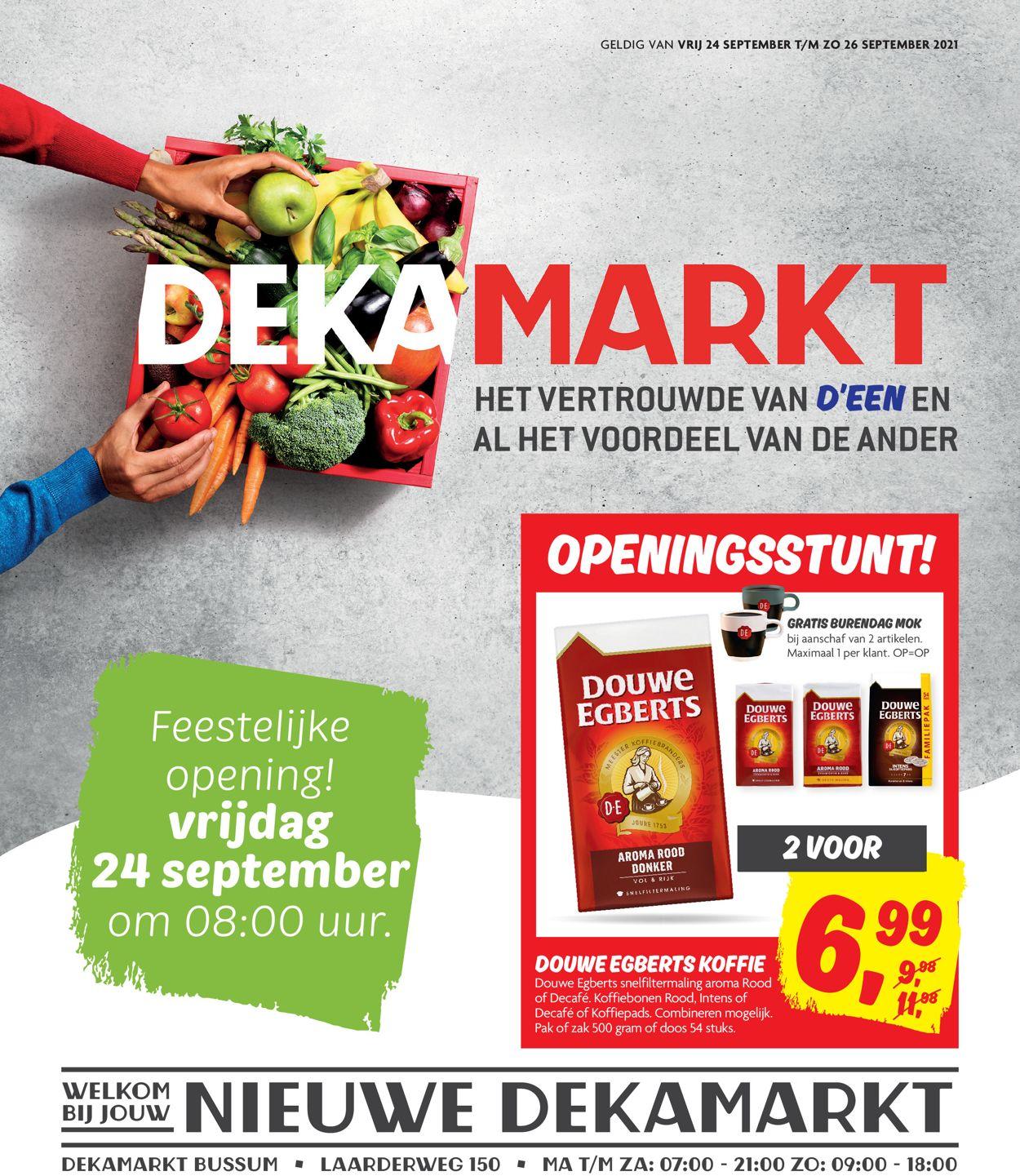 Dekamarkt Folder - 24.09-26.09.2021