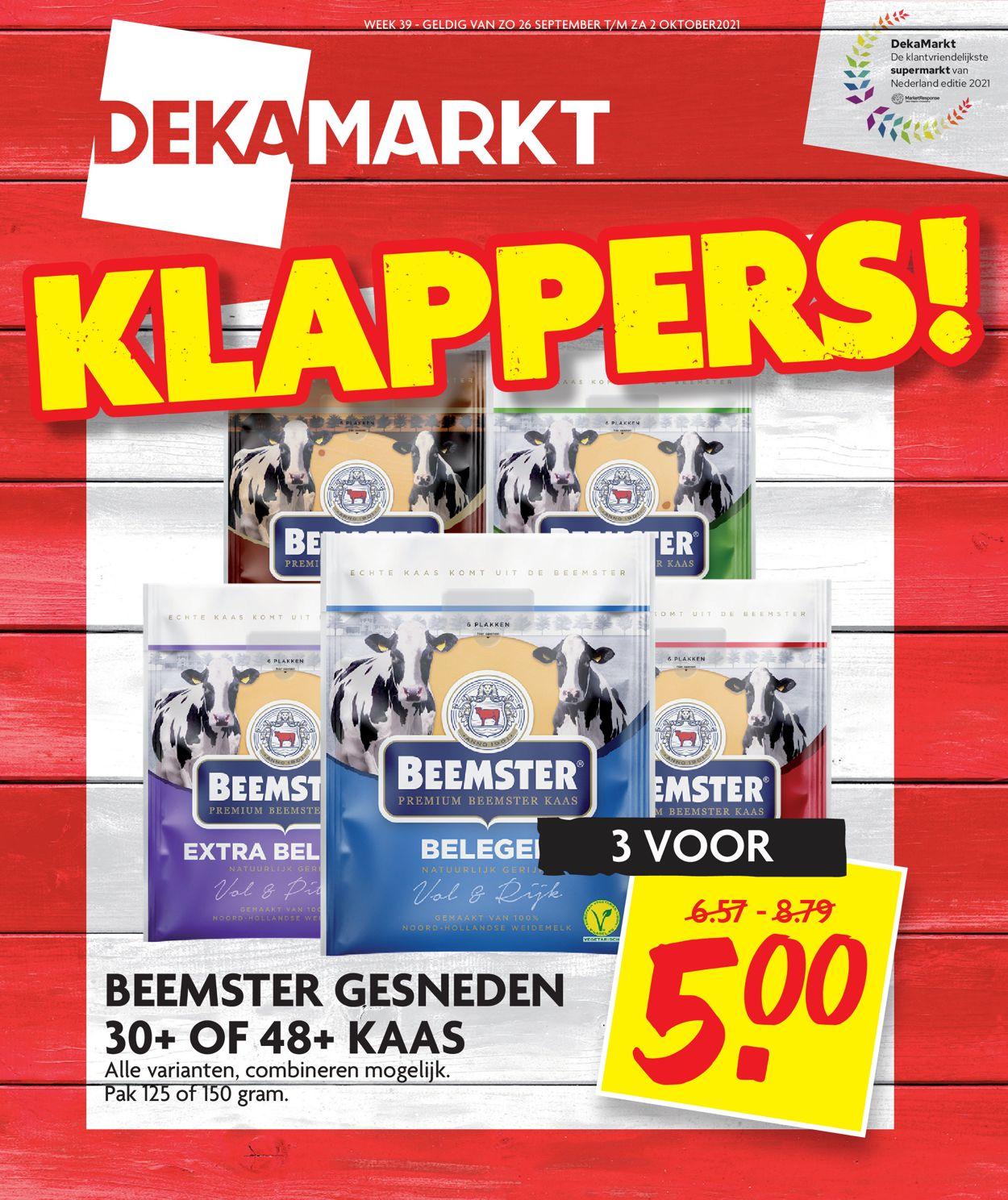Dekamarkt Folder - 26.09-02.10.2021