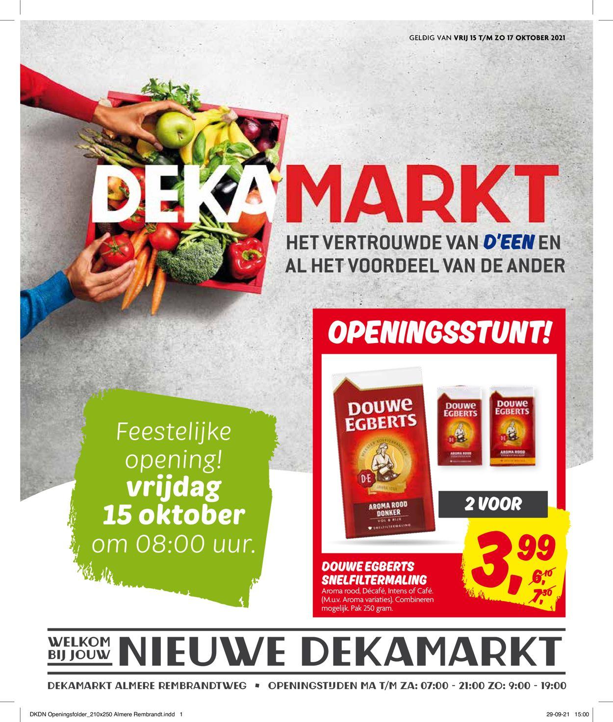Dekamarkt Folder - 15.10-17.10.2021