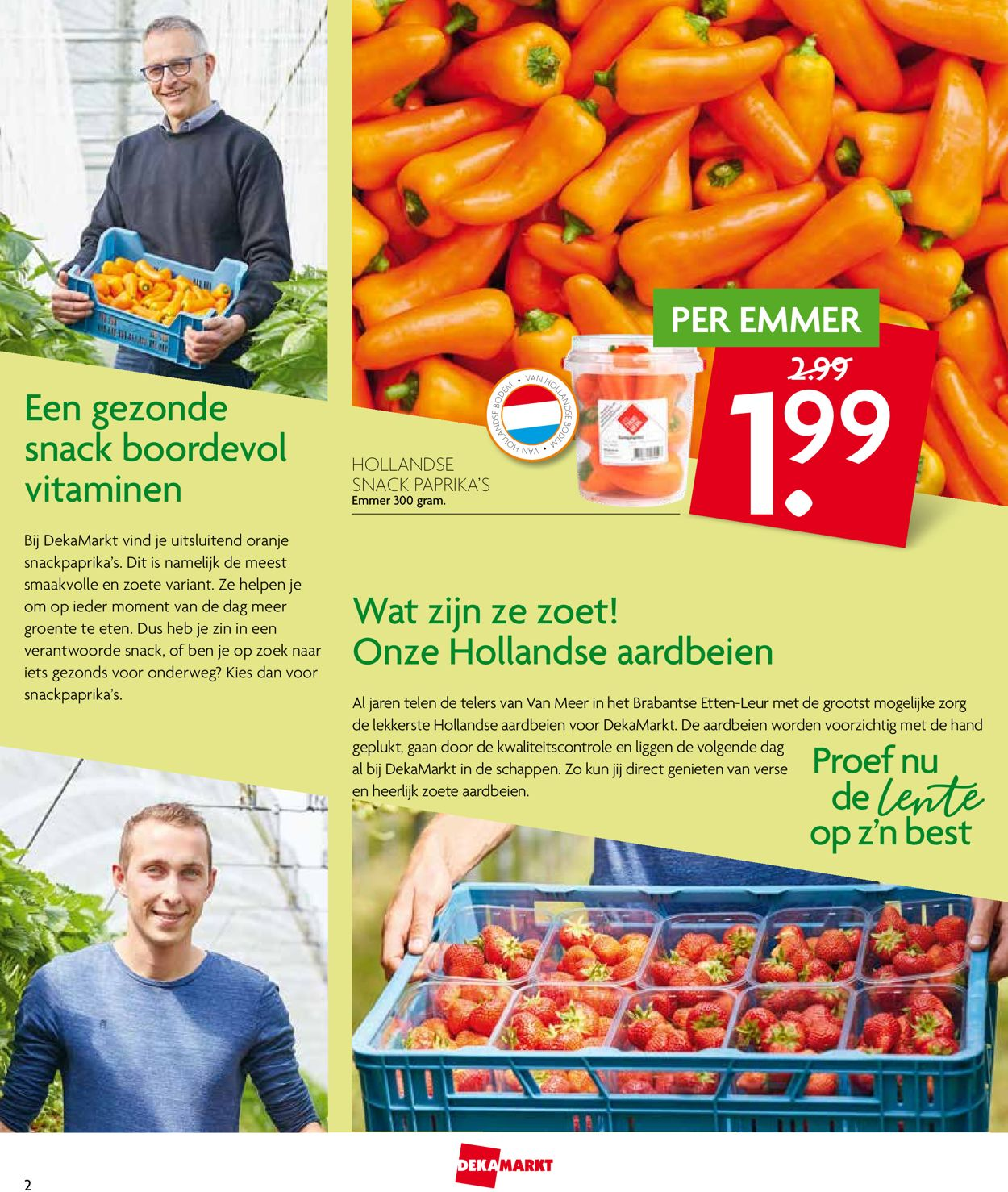 Dekamarkt Folder - 26.05-01.06.2019 (Pagina 2)