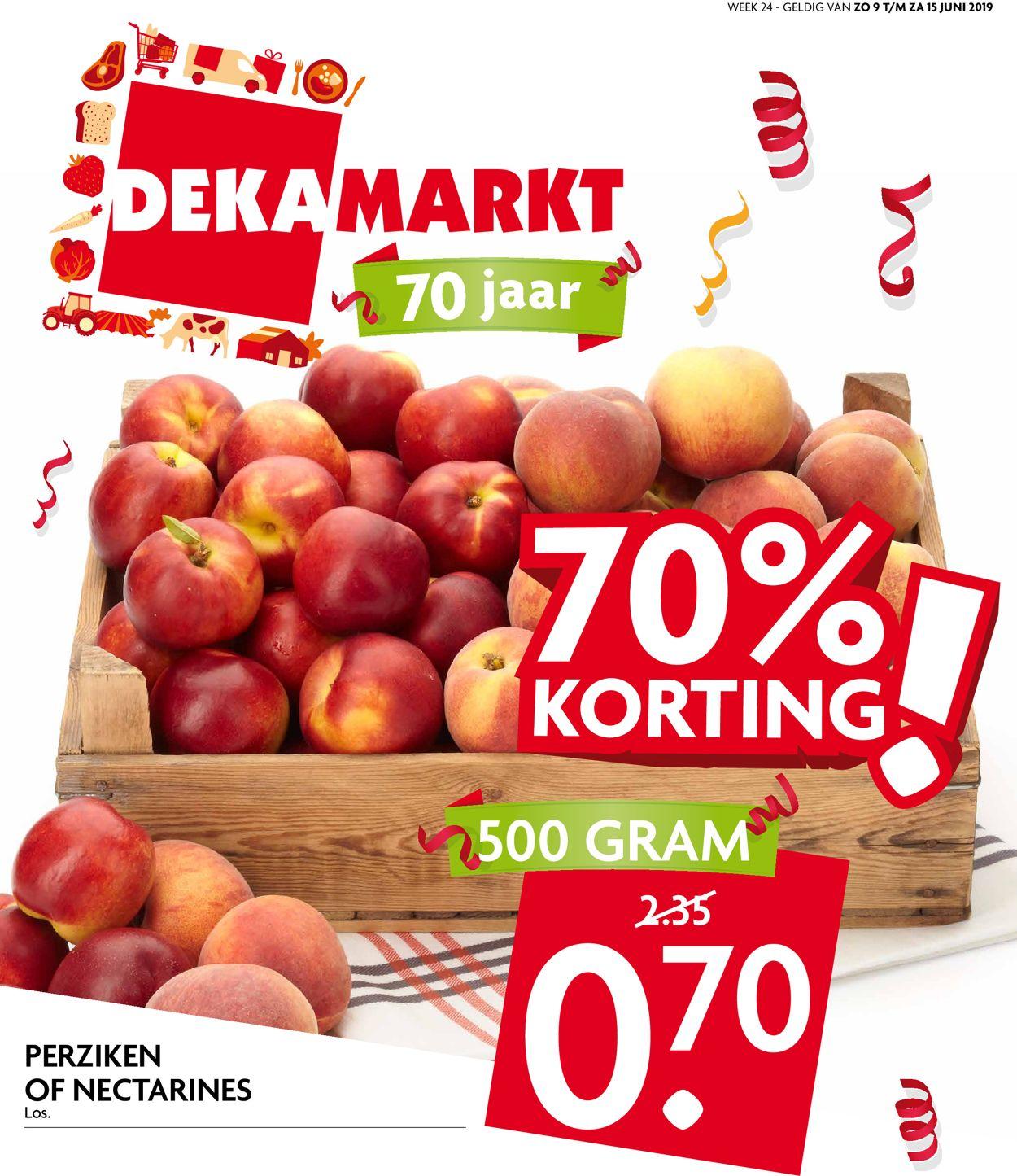 Dekamarkt Folder - 09.06-15.06.2019