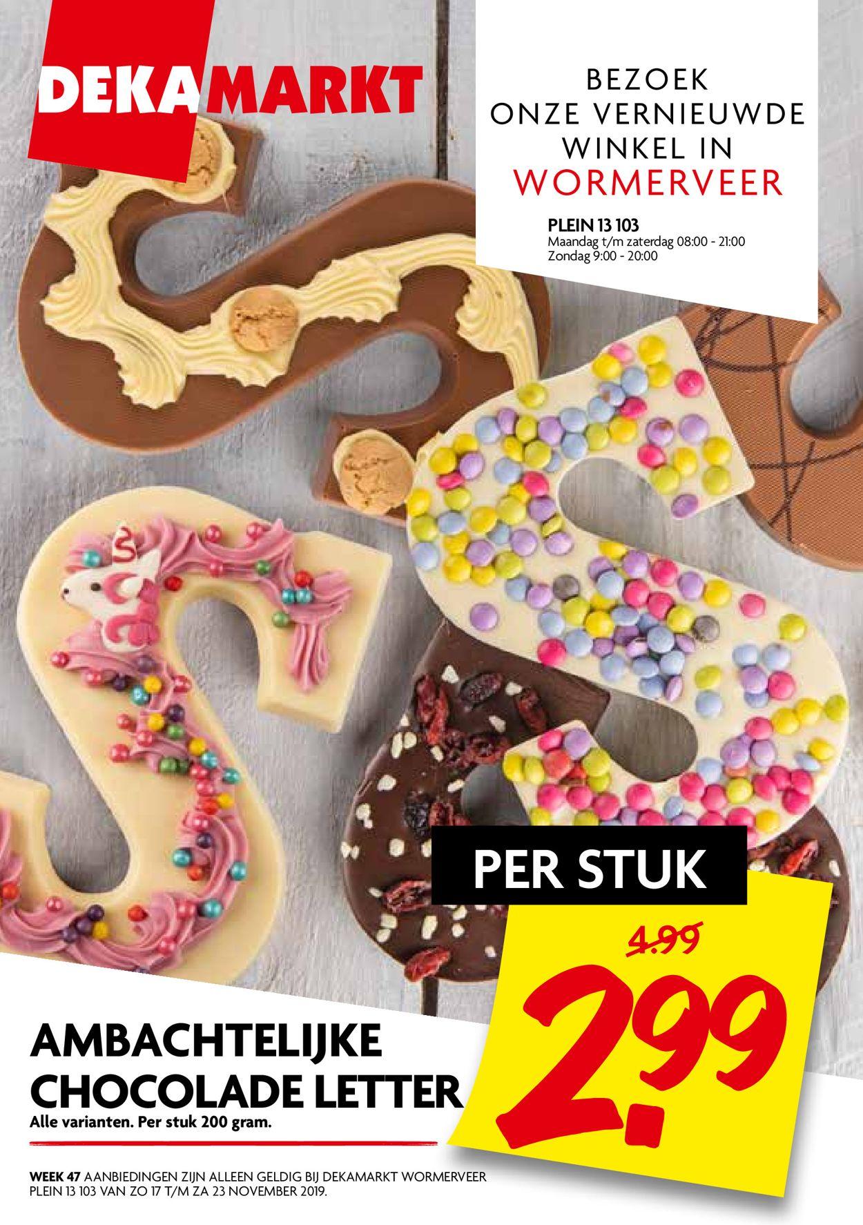 Dekamarkt Folder - 17.11-23.11.2019