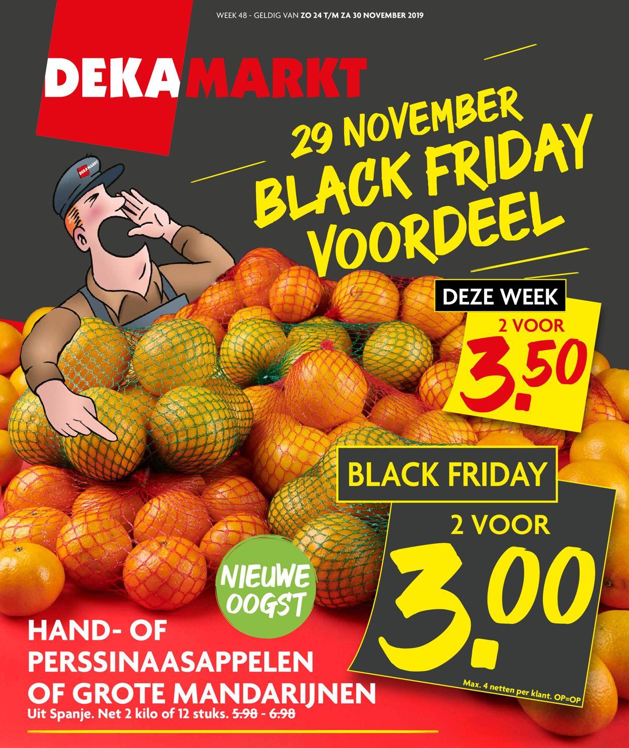 Dekamarkt - Black Friday 2019 Folder - 24.11-30.11.2019