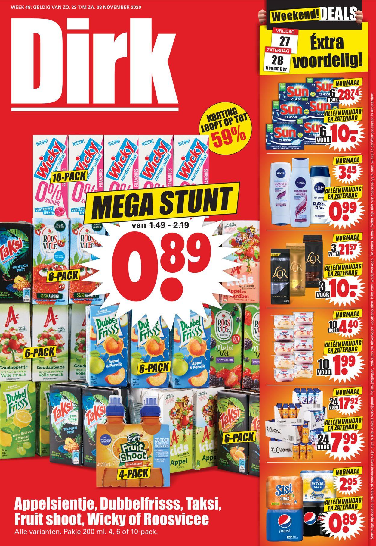 Dirk Black Friday 2020 Folder - 22.11-28.11.2020 (Pagina 8)
