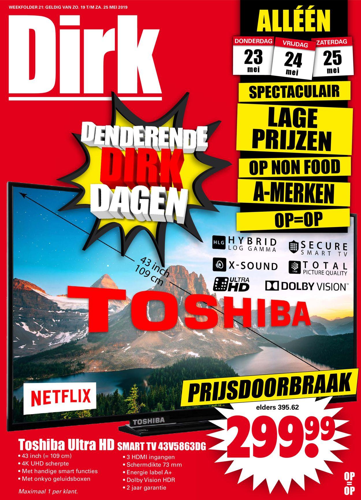 Dirk Folder - 19.05-25.05.2019