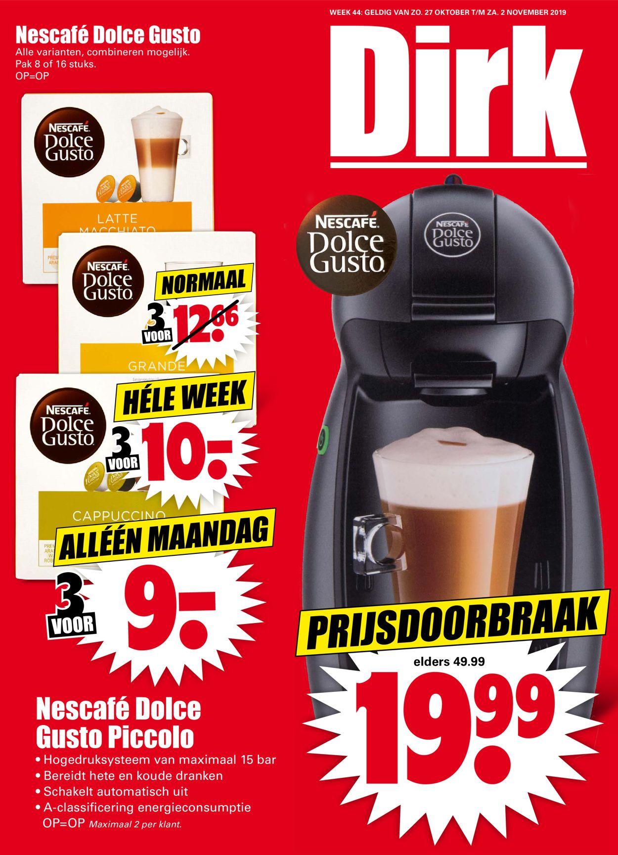 Dirk Folder - 27.10-02.11.2019