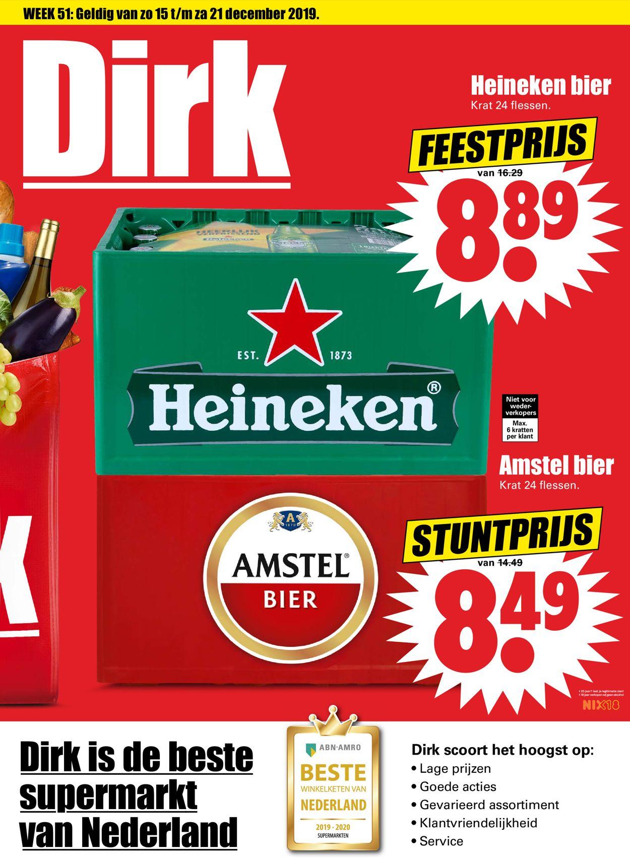 Dirk - Kerstaanbieding 2019 Folder - 15.12-21.12.2019