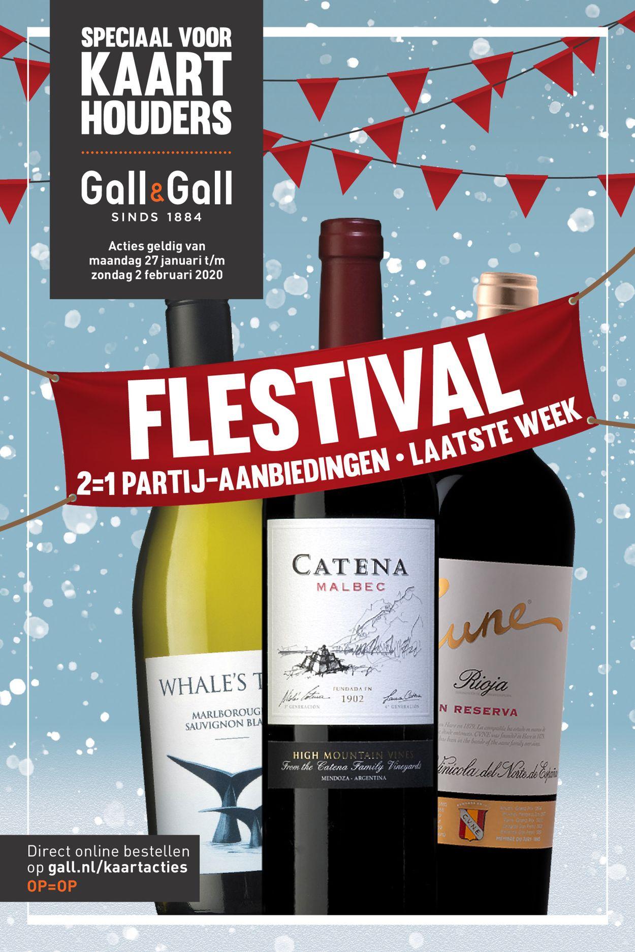 Gall & Gall Folder - 27.01-02.02.2020