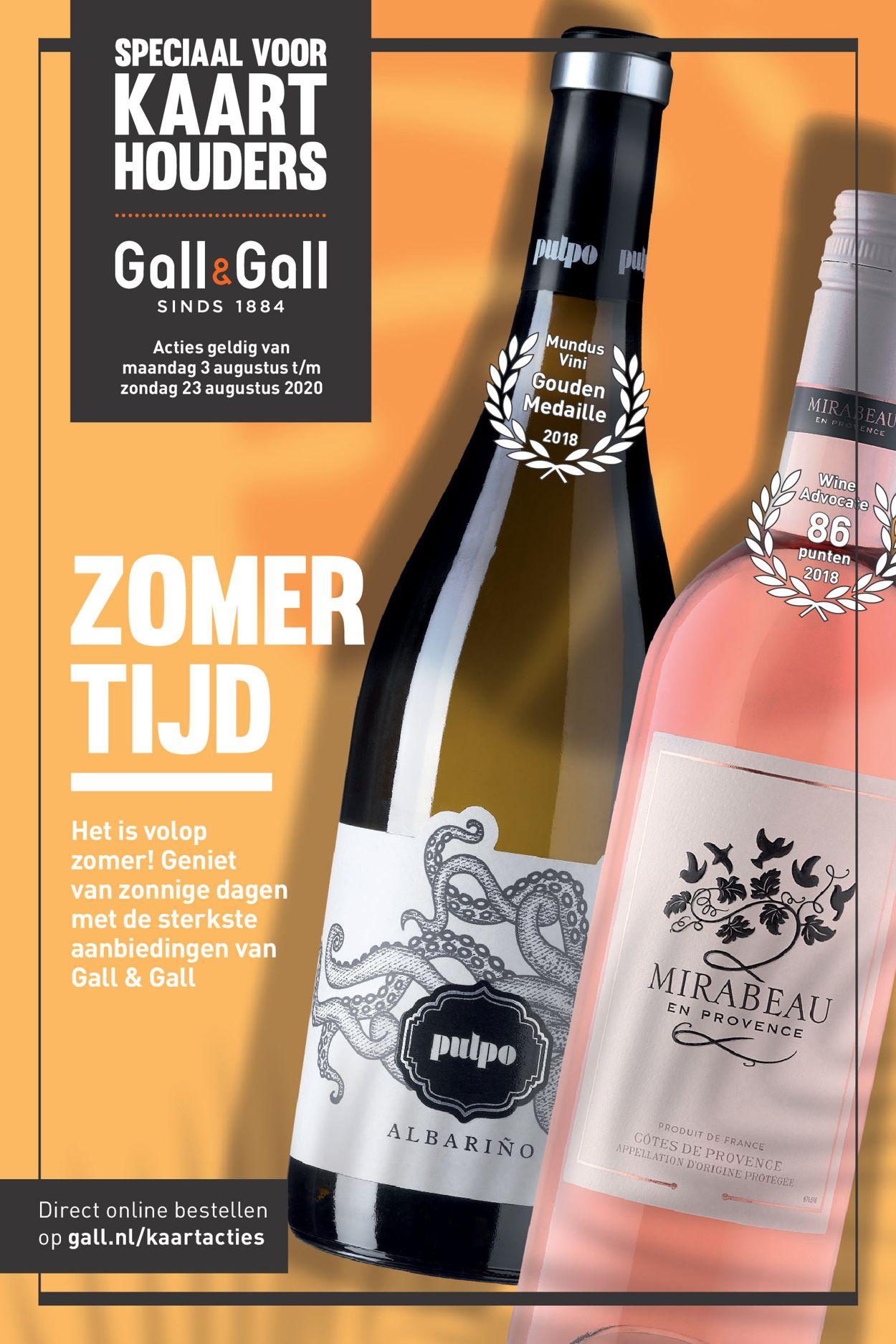 Gall & Gall Folder - 03.08-23.08.2020
