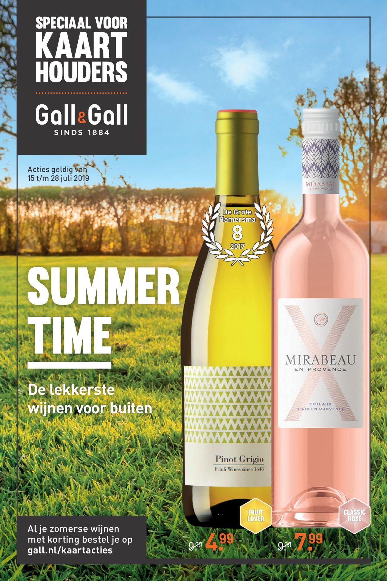 Gall & Gall Folder - 15.07-28.07.2019