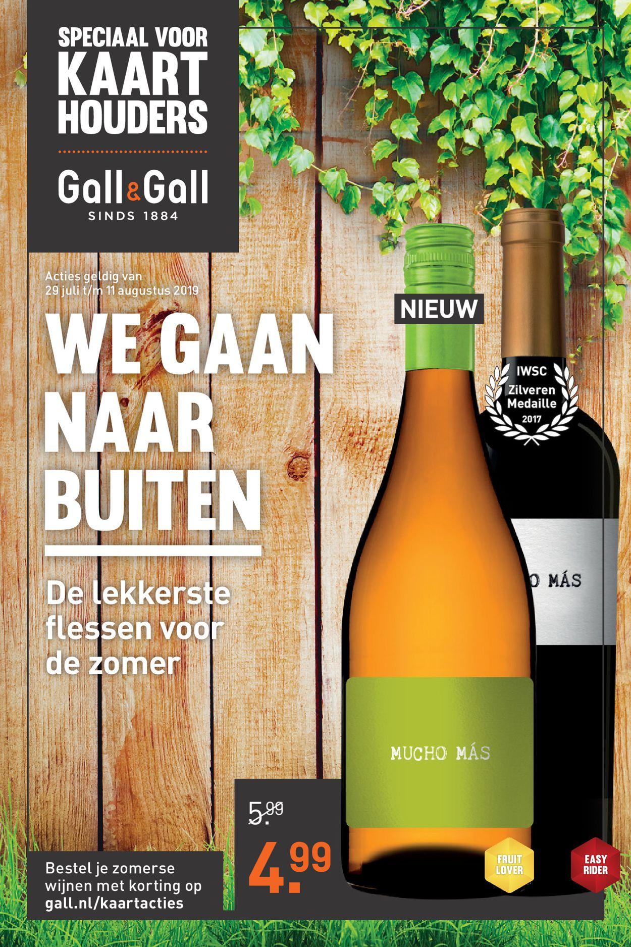 Gall & Gall Folder - 29.07-11.08.2019