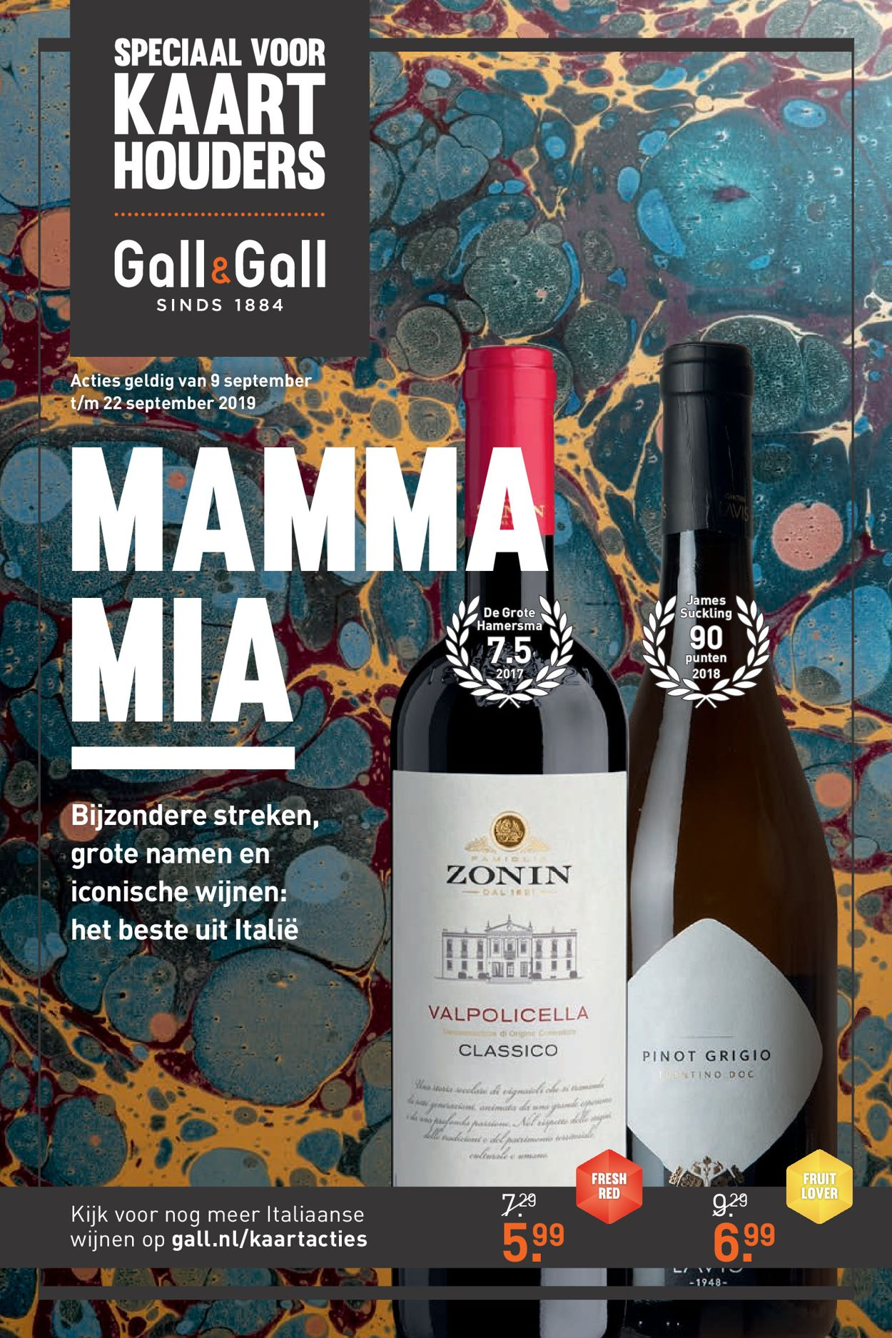 Gall & Gall Folder - 09.09-22.09.2019