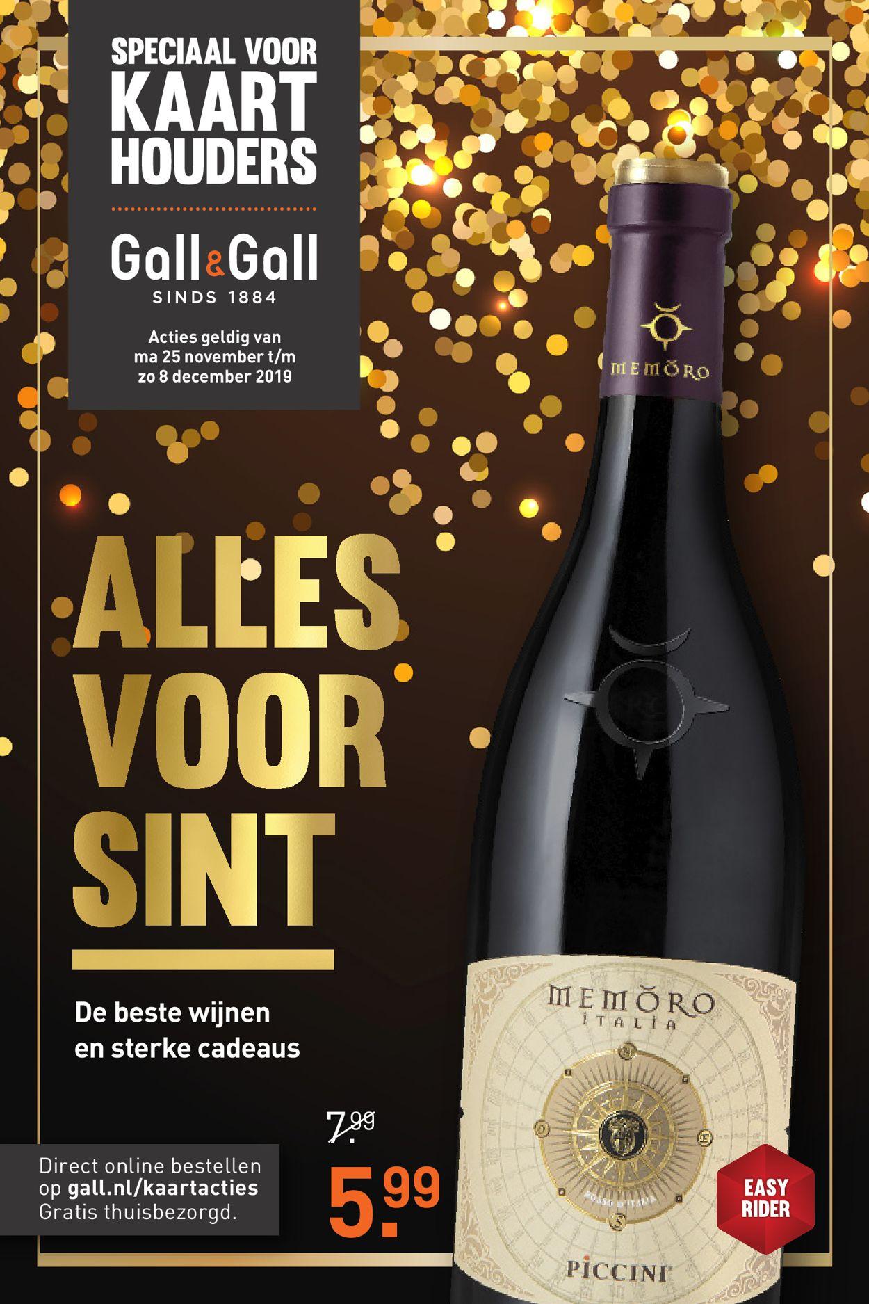 Gall & Gall Folder - 25.11-08.12.2019