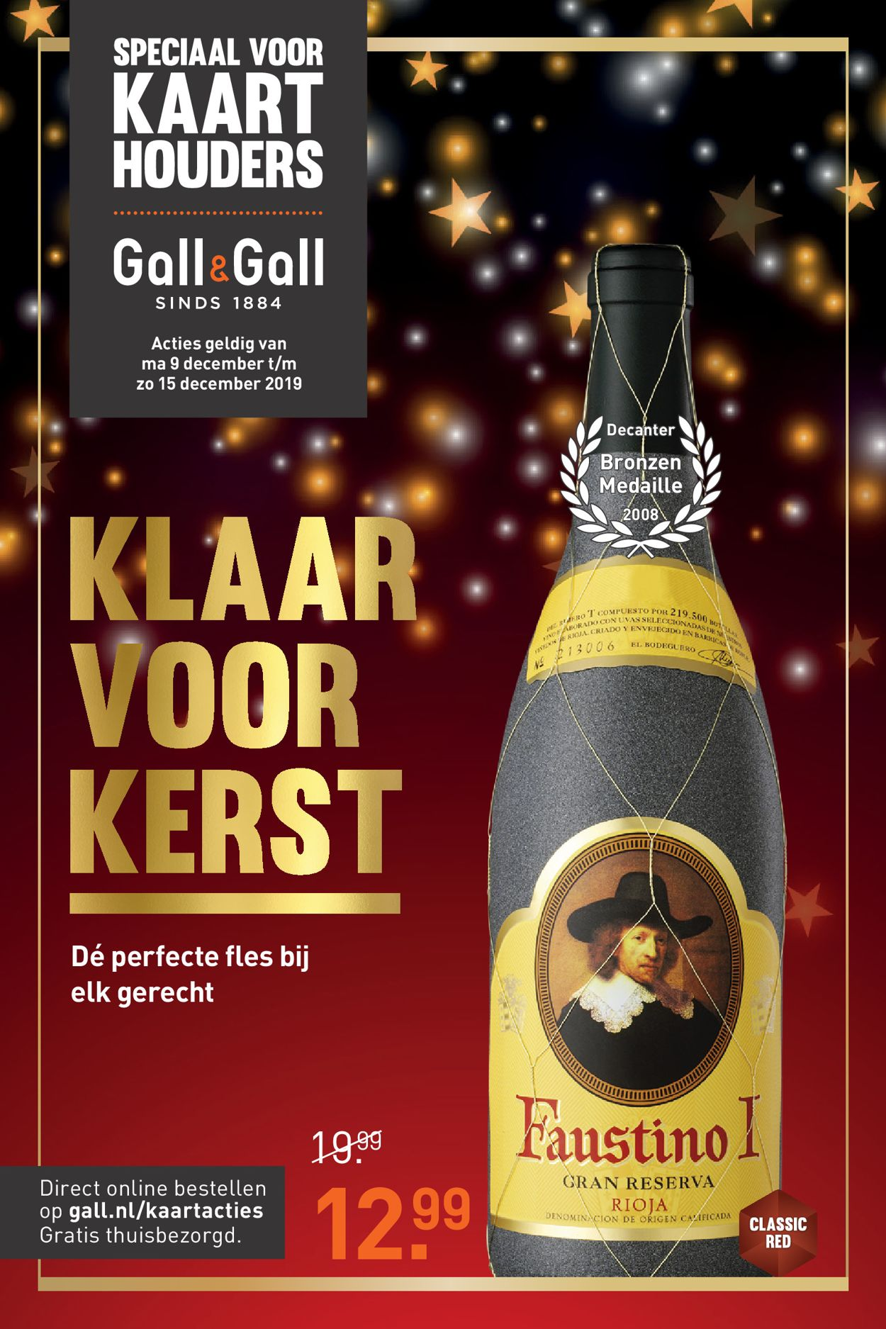 Gall & Gall - Kerstaanbieding 2019 Folder - 09.12-15.12.2019