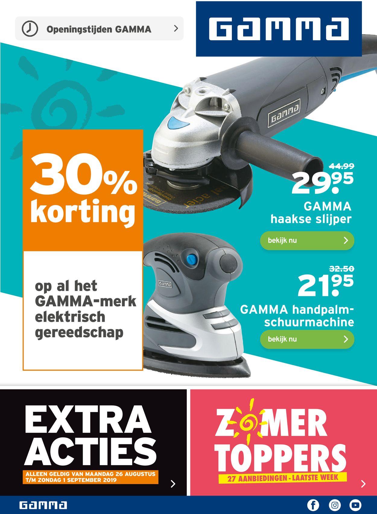 Gamma Folder - 26.08-01.09.2019