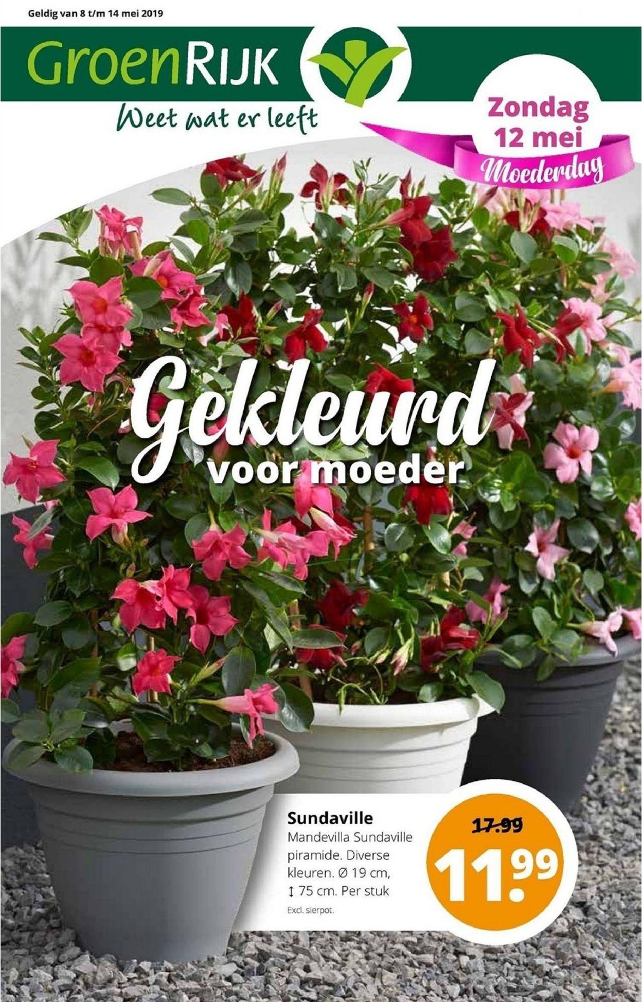 GroenRijk Folder - 07.05-14.05.2019