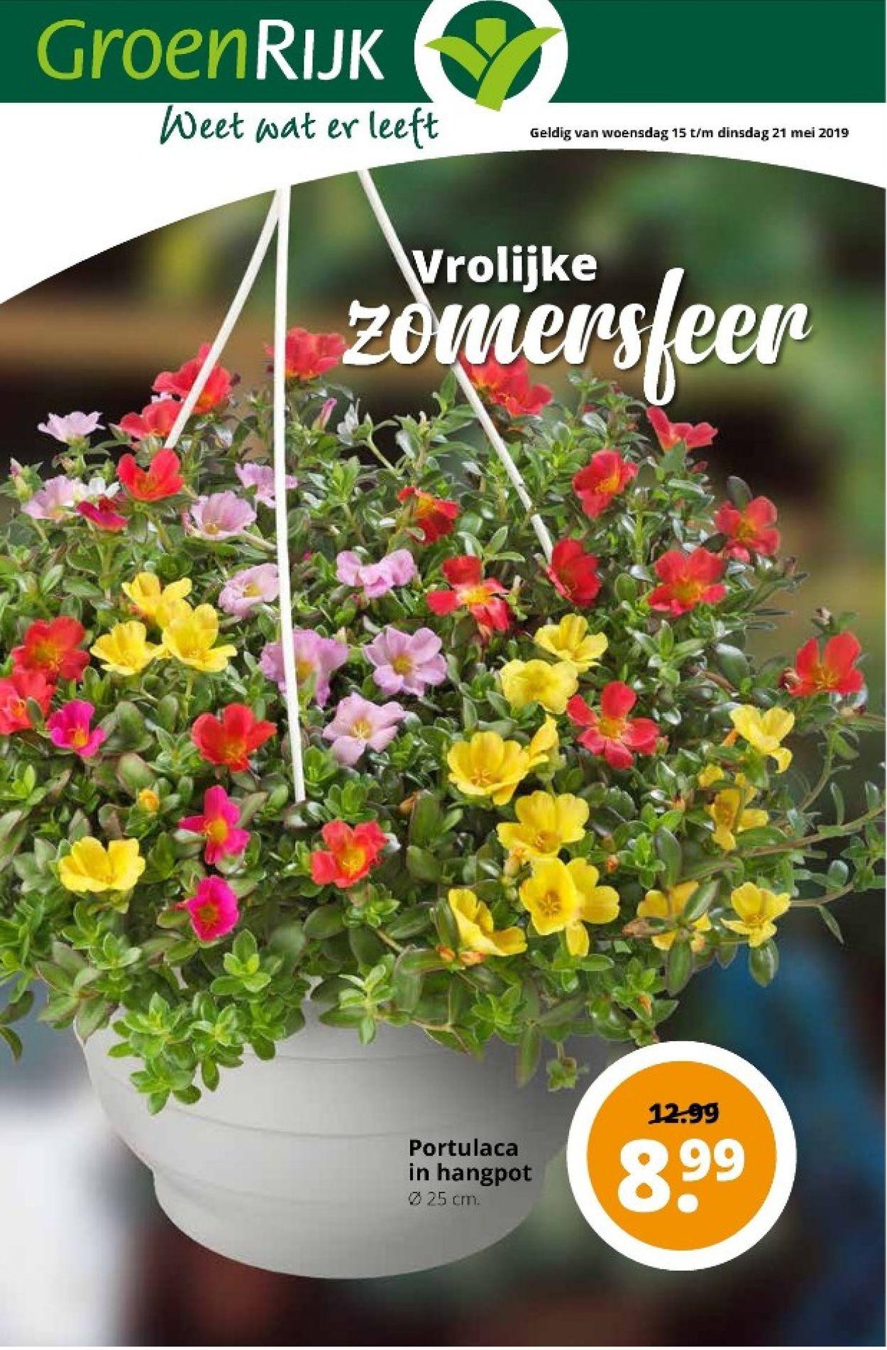 GroenRijk Folder - 15.05-21.05.2019