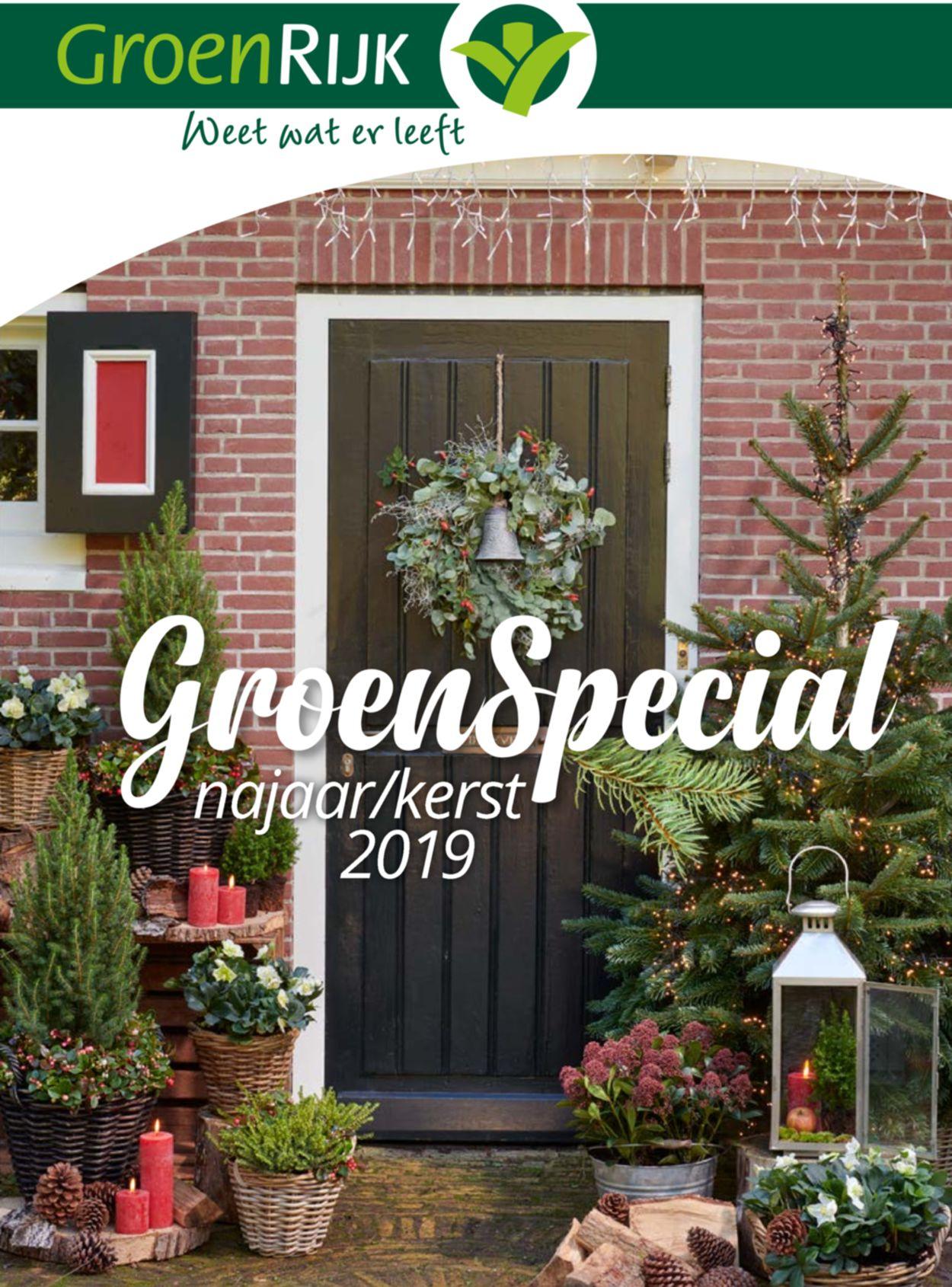 GroenRijk Folder - 19.11-28.12.2019