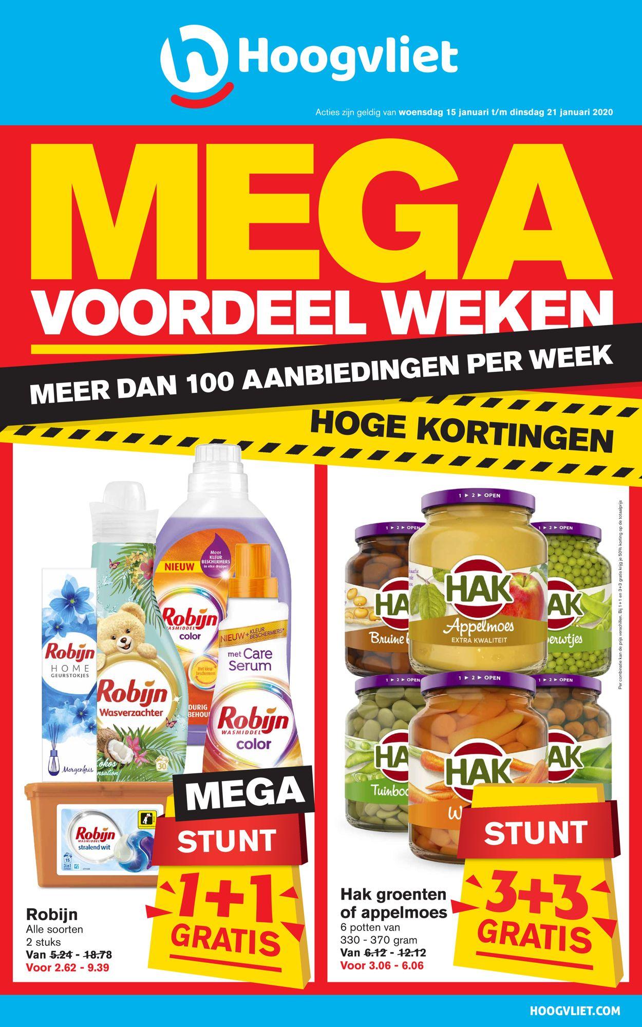 Hoogvliet Folder - 15.01-21.01.2020
