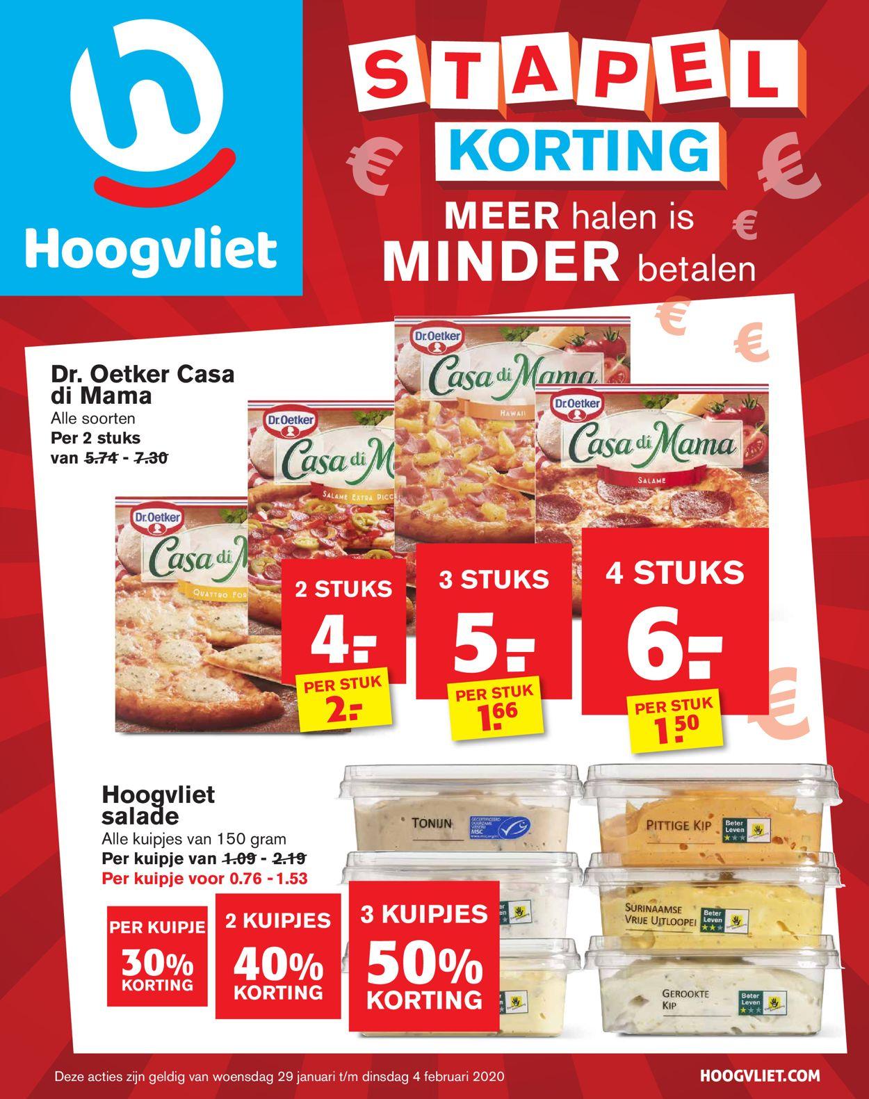 Hoogvliet Folder - 29.01-04.02.2020