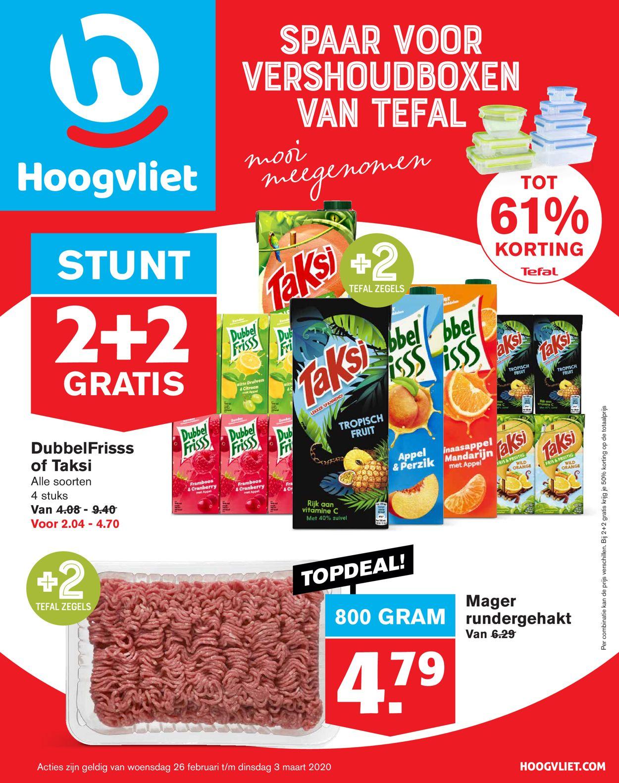 Hoogvliet Folder - 26.02-03.03.2020